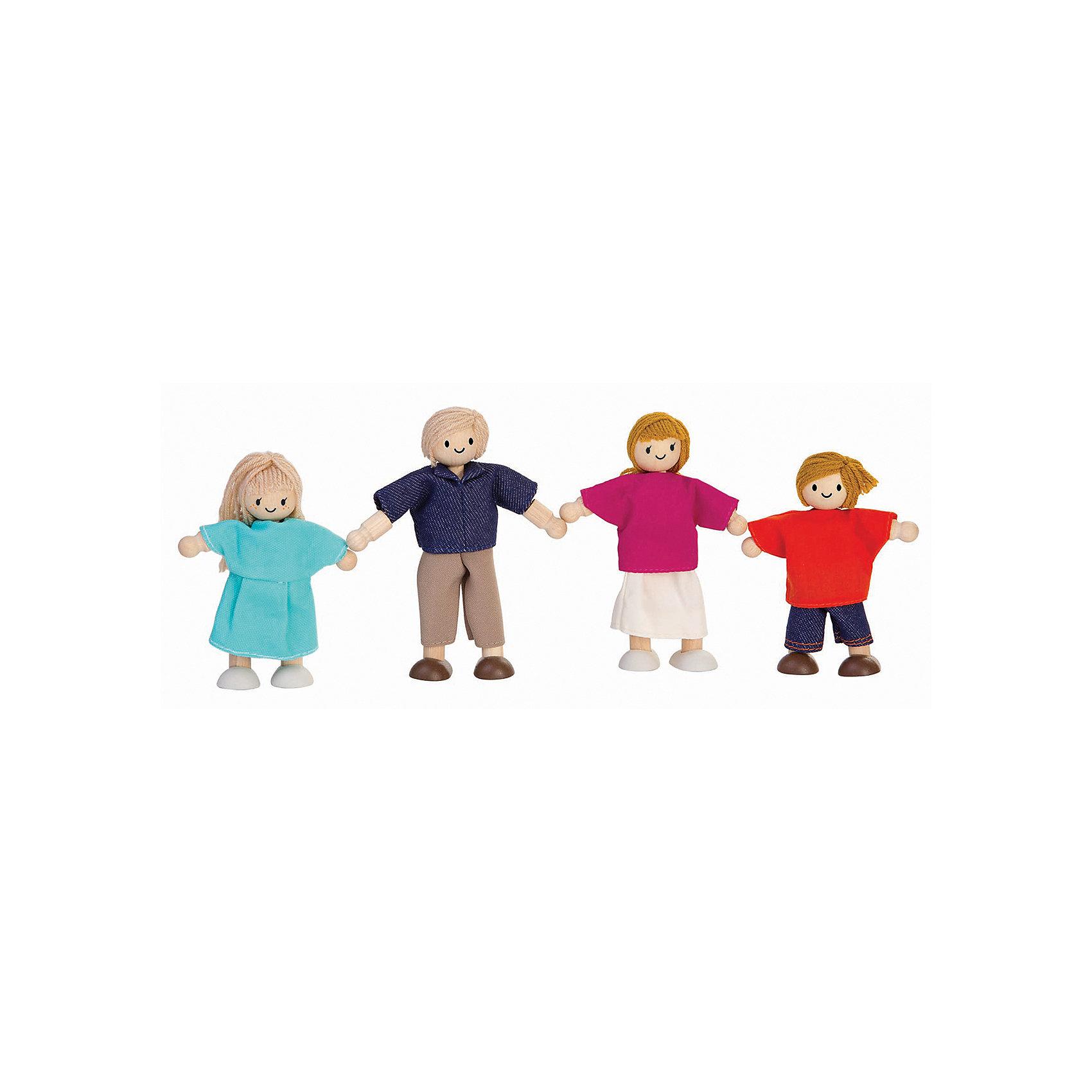Plan Toys PLAN TOYS 7415 Кукольная семья конструкторы plan toys игра кактус
