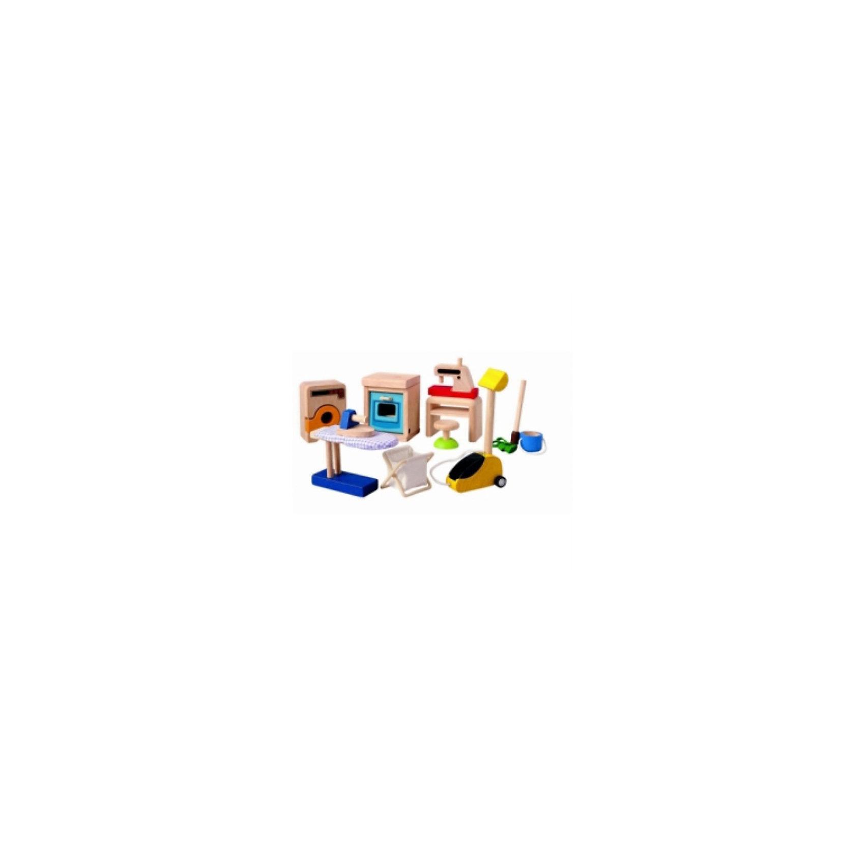 PLAN TOYS 9710 Аксессуары для кукольного домаДеревянные куклы, домики и мебель<br>PLAN TOYS (Плен тойс) 9710: Аксессуары для кукольного дома.<br><br>Характеристика:<br><br>• Материал: каучуковое дерево, нетоксичные краски на водной основе.  <br>• Размер упаковки: 18,8х7,5х18,8 см.<br>• Размер духовки: 6х5х7,6 см.<br>• Комплектация: стиральную машину, духовой шкаф, швейную машину со стулом, гладильную доску с утюгом и корзиной для белья, пылесос и ведро со шваброй. <br>• Все детали набора отлично детализированы и реалистично раскрашены. <br>• Безопасные закругленные края. <br><br>Многочисленные аксессуары для кукольного дома сделают игры еще реалистичнее и интереснее. Все игрушки изготовлены из высококачественных материалов с применением гипоаллергенных, нетоксичных красителей, не имеют острых углов, которые могут травмировать ребенка, очень похожи на настоящие бытовые приборы. Прекрасный вариант для сюжетно-ролевых игр. <br><br>PLAN TOYS (Плен тойс) 9710: Аксессуары для кукольного дома можно купить в нашем интернет-магазине.<br><br>Ширина мм: 75<br>Глубина мм: 188<br>Высота мм: 188<br>Вес г: 650<br>Возраст от месяцев: 12<br>Возраст до месяцев: 1164<br>Пол: Женский<br>Возраст: Детский<br>SKU: 2175355