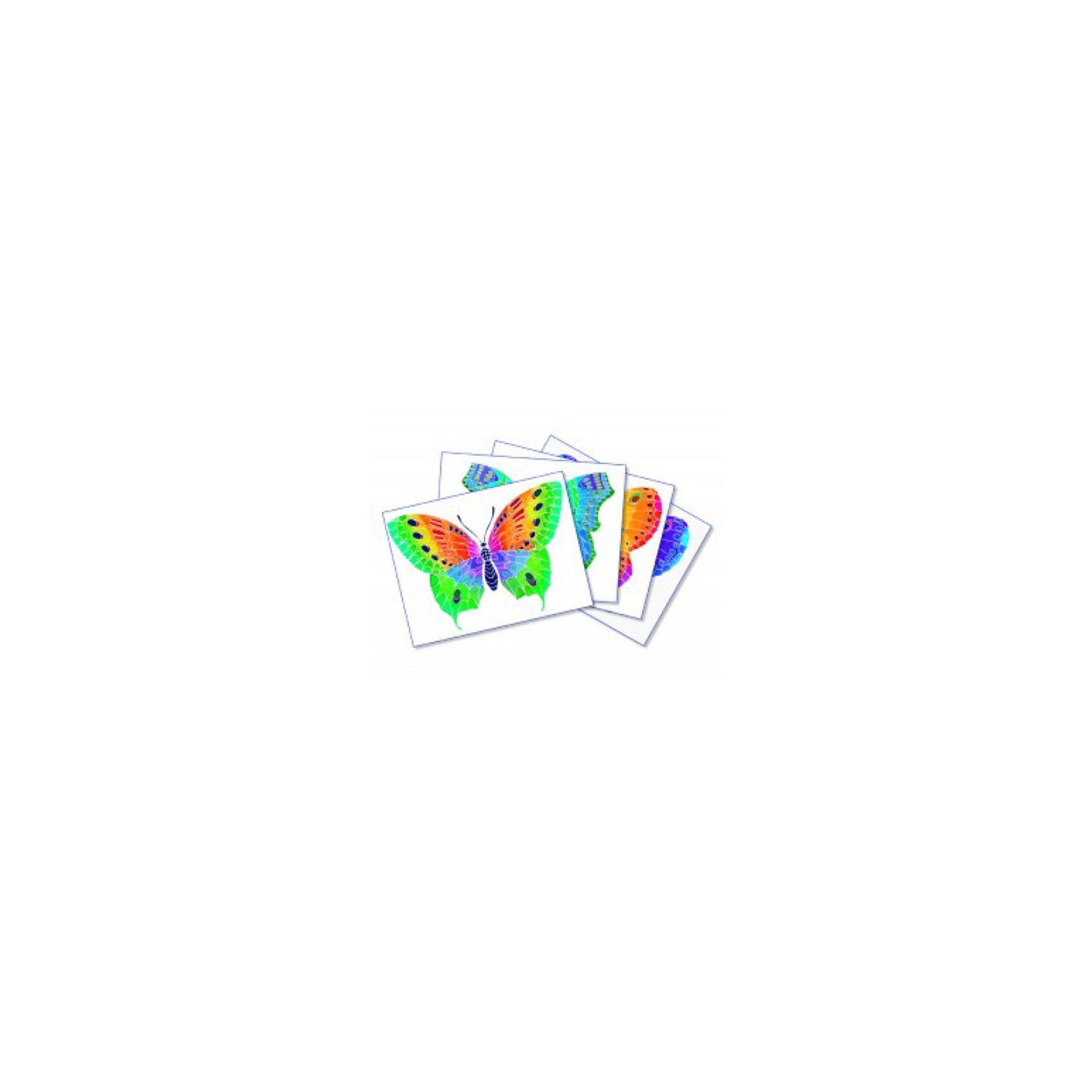 SentoSpherе 661 Акварельная раскраска БабочкаВсего несколько капель красок и любой ребенок сможет создать настоящие произведения искусства. Акварель для детей основана на технике вставки в оправу тонкого пергамента. Эта техника позволяет картине приклеиться только на специальные поверхности: рисунок появляется по мере проведения кисточкой по бумаге. Картину можно перерисовывать несколько раз, чтобы получить самый красивый результат. Такая техника идеальна, чтобы научить детей составлению цветов. Кроме того, она развивает воображение, точность и внимание. 4 картины; 1 кисть очень высокого качества; 1 палитра для смешивания красок; 5 флаконов не токсичных акварельных красок; 1 пипетка для дозировки красок; 1 инструкция<br><br>Ширина мм: 195<br>Глубина мм: 30<br>Высота мм: 265<br>Вес г: 275<br>Возраст от месяцев: 36<br>Возраст до месяцев: 2147483647<br>Пол: Женский<br>Возраст: Детский<br>SKU: 2176758