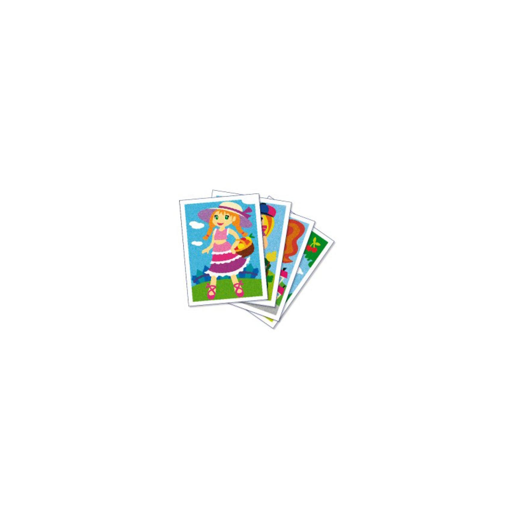 """SentoSpherе 884 Песочные картинки """"Маленькие девочки"""" от myToys"""