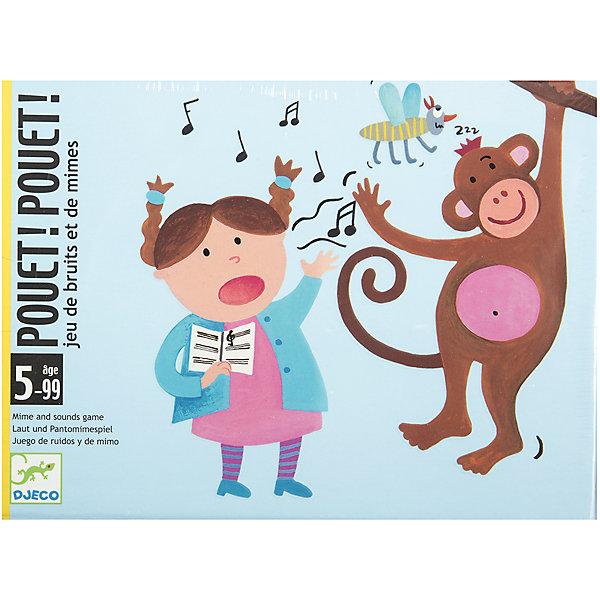 Настольная игра Пантомима, DJECOНастольные игры для всей семьи<br>Настольная игра Пантомима DJECO (Джеко) - увлекательная игра, которая увлечет как детей, так и взрослых. Цель игры - угадать с помощью пантомимы содержание картинки. Один из игроков вытягивает из колоды карту и пытается изобразить ее содержание, описать карту надо одним из трех способов, в зависимости от ее цвета: только мимикой и жестами, только звуками или и тем и другим вместе. Если другие игроки догадаются, что им изображают, то первый игрок получает карту. Побеждает тот, кто быстрее всех наберет определенное количество карт.<br><br>Дополнительная информация:<br><br>- В комплекте: 120 карт: 40 голубых карт - пантомимы, 40 оранжевых - звуки и 40 зеленых - пантомимы+звуки; инструкция к игре, коробочка для хранения карт<br>- Материал: картон.<br>- Размер упаковки: 12 х 15 х 3 см.<br>- Вес: 0,425 кг.<br><br>Настольную игру Пантомима DJECO (Джеко) можно купить в нашем магазине.<br><br>Ширина мм: 117<br>Глубина мм: 28<br>Высота мм: 156<br>Вес г: 300<br>Возраст от месяцев: 60<br>Возраст до месяцев: 108<br>Пол: Унисекс<br>Возраст: Детский<br>SKU: 2199974