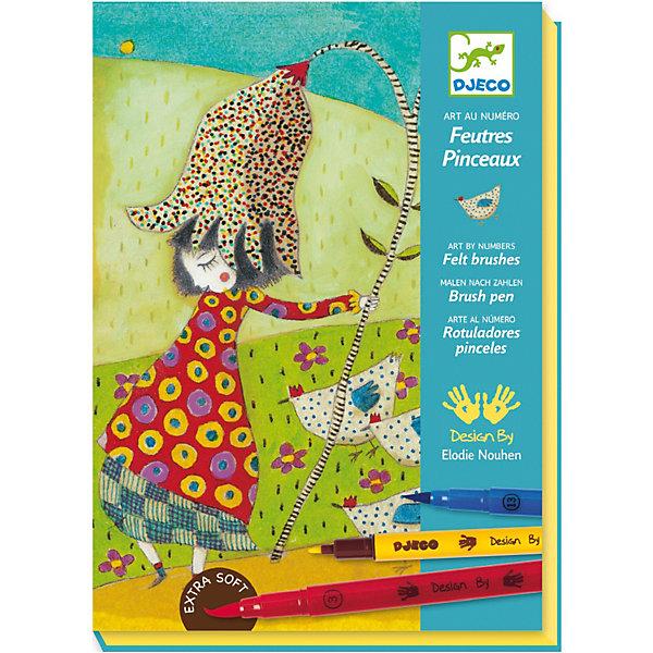 Набор 4 картины для раскрашивания с фломастерами, DJECOРаскраски для детей<br>Раскраска с цветами DJECO (Джеко) увлекательный набор для домашнего творчества, который поможет ребенку проявить творческую фантазию и создать свои первые маленькие шедевры. В наборе 4 картинки-фона, которые надо раскрасить фломастерами согласно своей фантазии. <br><br>Дополнительная информация:<br><br>- В комплекте: 4 вида фона, 8 двусторонних фломастеров, красочная инструкция. <br>- Материал: бумага.<br>- Размер: 16,5 х 23 х 4 см.<br>- Вес с упаковкой: 0,762 кг. <br><br>Раскраску с цветами  DJECO (Джеко) можно купить в нашем магазине.<br>Ширина мм: 230; Глубина мм: 40; Высота мм: 165; Вес г: 500; Возраст от месяцев: 84; Возраст до месяцев: 144; Пол: Женский; Возраст: Детский; SKU: 2200024;