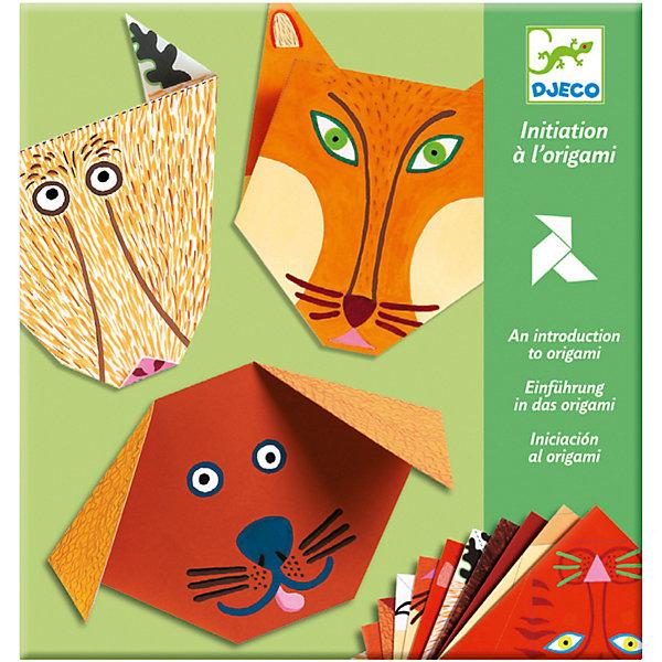 DJECO Набор Бумажные животныеБумага<br>Набор Бумажные животные DJECO (Джеко) познакомит Вашего ребенка с древним искусством оригами. Искусство оригами позволяет создавать маленькие шедевры из обычных листков бумаги, можно сложить разнообразных зверюшек, фигурки, цветы и много другое. В наборе DJECO (Джеко) разноцветные бумажные заготовки с забавными мордочками животных, они просты в изготовлении и малыш  может сложить их сам.  <br><br>Дополнительная информация:<br><br>- В наборе листы для складывания и инструкция.<br>- Материал: бумага.<br>- Размер упаковки: 21,5 х 23 х 0,6 см.<br>- Вес:  0,174 кг. <br><br>Искусство оригами развивает мелкую моторику и способствует эстетическому развитию ребенка.<br><br>Набор Бумажные животные DJECO (Джеко) можно купить в нашем магазине.<br>Ширина мм: 230; Глубина мм: 2; Высота мм: 215; Вес г: 150; Возраст от месяцев: 48; Возраст до месяцев: 120; Пол: Унисекс; Возраст: Детский; SKU: 2200028;