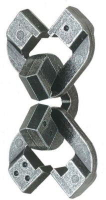Cast Puzzle Головоломка Chain, Уровень сложности 6, Hanayama