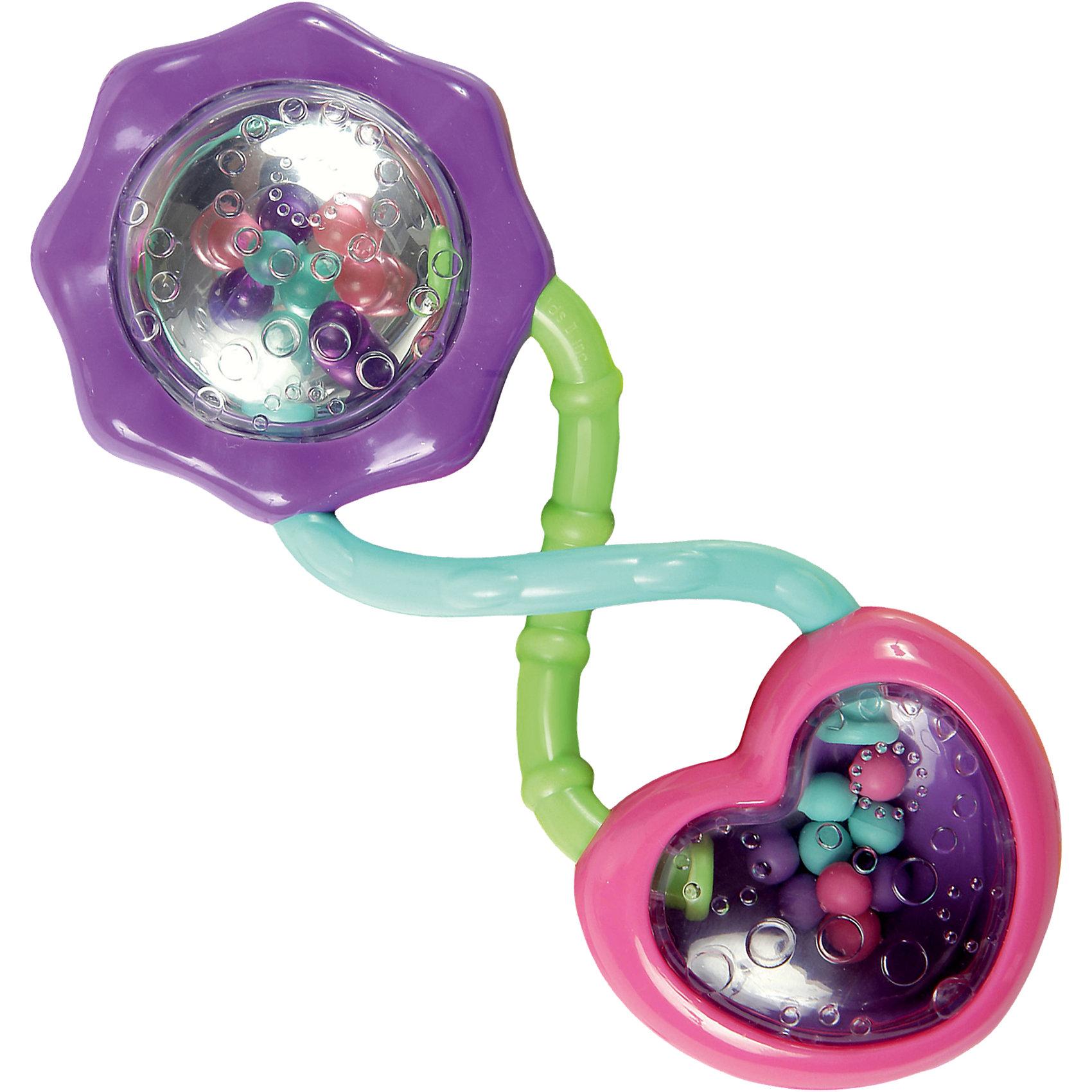 Развивающая игрушка Розовый калейдоскоп Bright StartsИгрушки-антистресс<br>Яркая погремушка создаст хорошее настроение у малышки и станет её любимицей!<br><br>ОСОБЕННОСТИ<br>Погремушка с разноцветными  шариками<br>Различные текстуры<br>Разноцветные шарики отражаются в зеркальной поверхности<br><br>РАЗМЕРЫ<br> размеры товара: 5 * 4 * 14,5 см<br> размеры коробки: 11,5 * 4 * 19 см<br><br>Развивающая игрушка Розовый калейдоскоп Bright Starts (Брайт Стартс) можно купить в нашем интернет-магазине.<br><br>Ширина мм: 205<br>Глубина мм: 98<br>Высота мм: 35<br>Вес г: 48<br>Возраст от месяцев: 3<br>Возраст до месяцев: 12<br>Пол: Женский<br>Возраст: Детский<br>SKU: 2225526