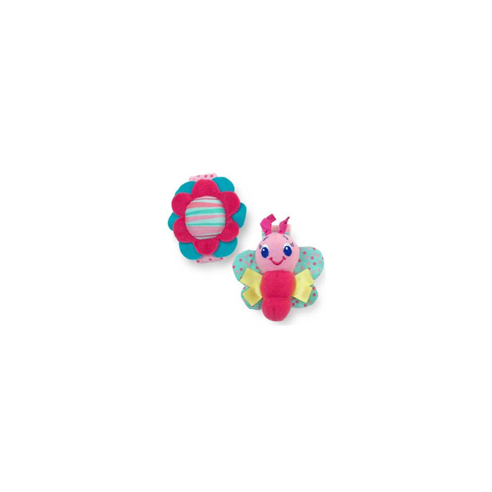 Игрушки-погремушки на ручку Стильная пара браслетиков, розовые Bright StartsПогремушки<br>Даже самая маленькая девочка не отстанет от моды с этими милыми браслетиками!<br><br>ОСОБЕННОСТИ<br>Хрустящие элементы<br>Погремушки в виде браслетиков<br>Надежно крепятся к детской ручке, не причиняя неудобства<br>Используются материалы разной текстуры<br><br>РАЗМЕРЫ<br>  2 вида браслетиков (продаются комплектом)<br>  размеры товара: 6,25 * 1,25 * 16,9 см<br>  размеры коробки: 14,1 * 1,25 * 19,1 см<br><br><br>Игрушки-погремушки на ручку Стильная пара браслетиков, розовые Bright Starts (Брайт Стартс) можно купить в нашем интернет-магазине.<br><br>Ширина мм: 140<br>Глубина мм: 190<br>Высота мм: 20<br>Вес г: 45<br>Возраст от месяцев: 0<br>Возраст до месяцев: 12<br>Пол: Женский<br>Возраст: Детский<br>SKU: 2225539