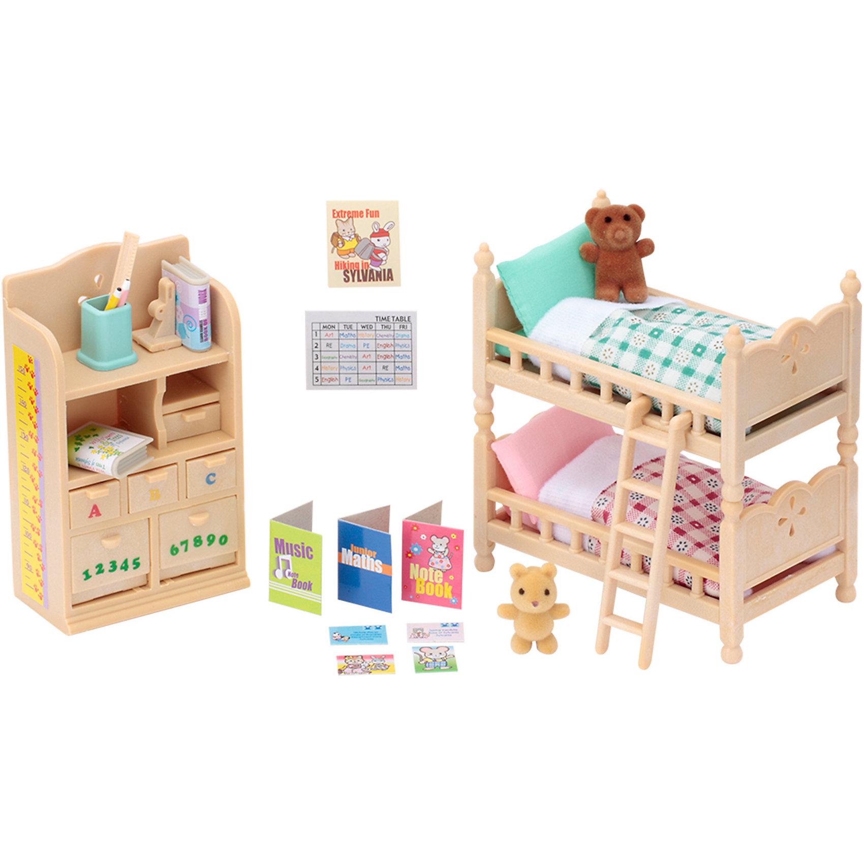 - Набор Детская комната Sylvanian Families матрасы  подушки и одеяла