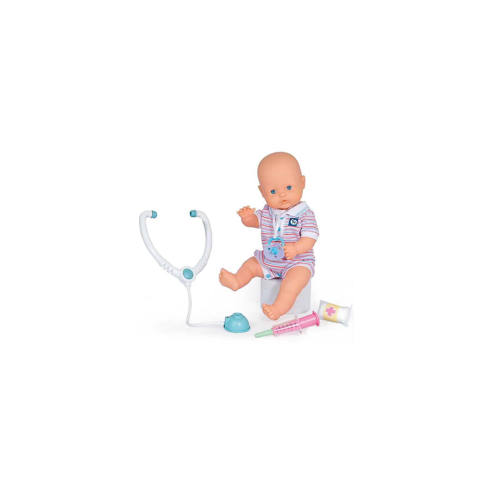 Famosa Пупс Ненуко (мальчик) и Медицинский набор