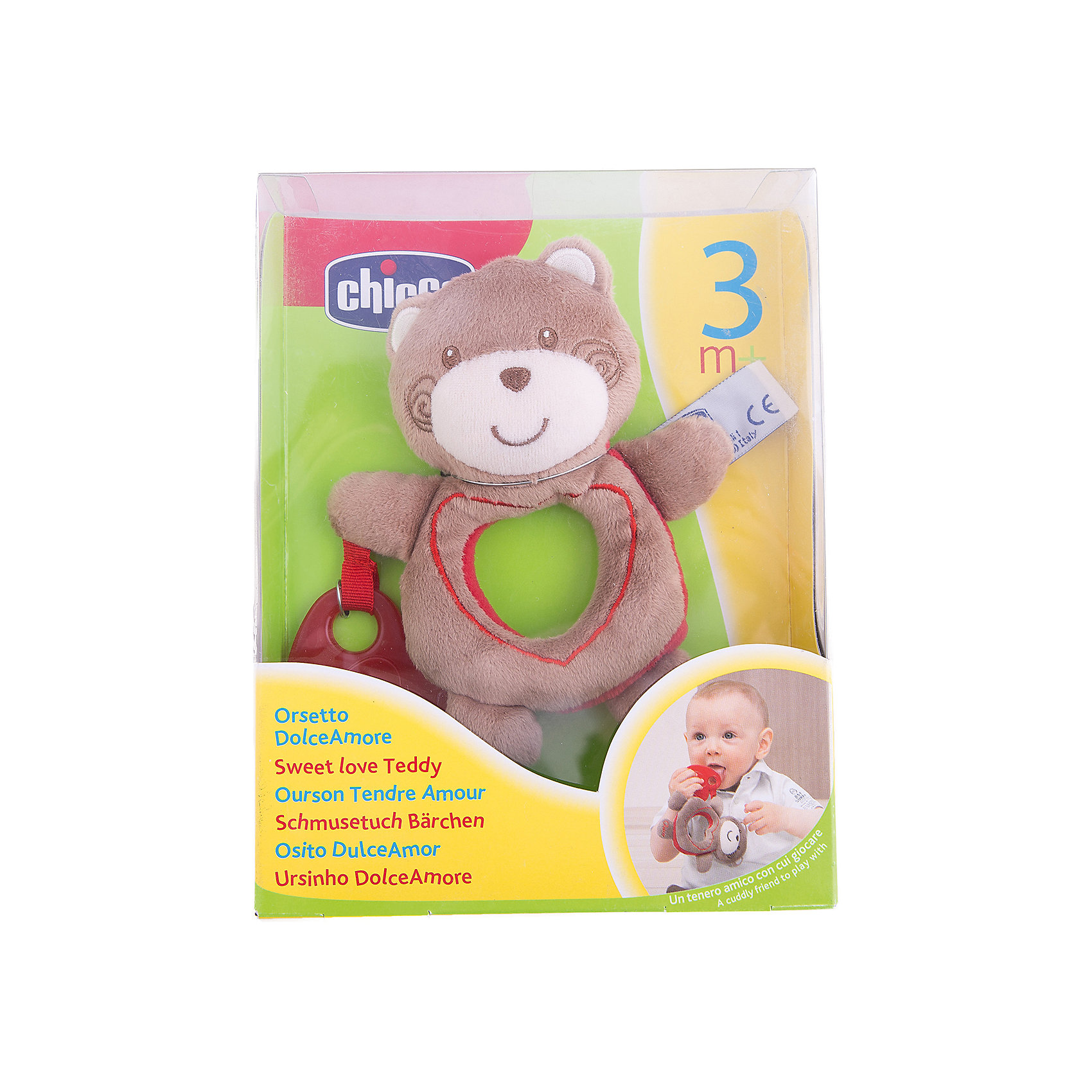 "Медвежонок ""Sweet Love Teddy"", Chicco от myToys"