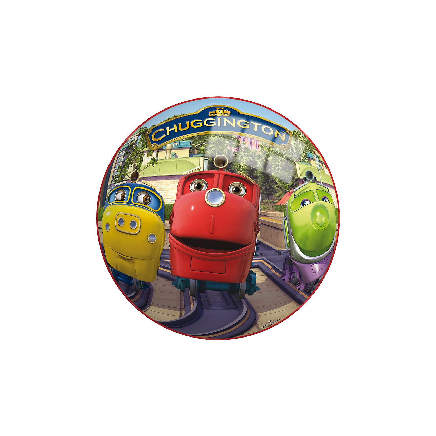 Мяч Чаггингтон, 230 мм, JOHNМячи детские<br>Мяч Чаггингтон, 230 мм, JOHN (ДЖОН) – это легкий яркий мяч, высоко отскакивает от пола мяч.<br>Яркий, высоко прыгающий мяч с изображением знаменитых веселых паровозиков из Чаггингтона понравится малышу. Мячик подойдет для игры дома, во дворе, на даче и на природе. Он выполнен из прочного и совершенного безопасного материала, который выдерживает воздействие влаги и имеет прочную структуру. Игра в мяч способствует развитию мелкой моторики, ловкости рук, координации движения.<br><br>Дополнительная информация:<br><br>- Диаметр: 23 см.<br>- Материал: ПВХ, пластизоль<br><br>Мяч Чаггингтон, 230 мм, JOHN (ДЖОН) можно купить в нашем интернет-магазине.<br><br>Ширина мм: 230<br>Глубина мм: 230<br>Высота мм: 230<br>Вес г: 140<br>Возраст от месяцев: 36<br>Возраст до месяцев: 72<br>Пол: Унисекс<br>Возраст: Детский<br>SKU: 2246046