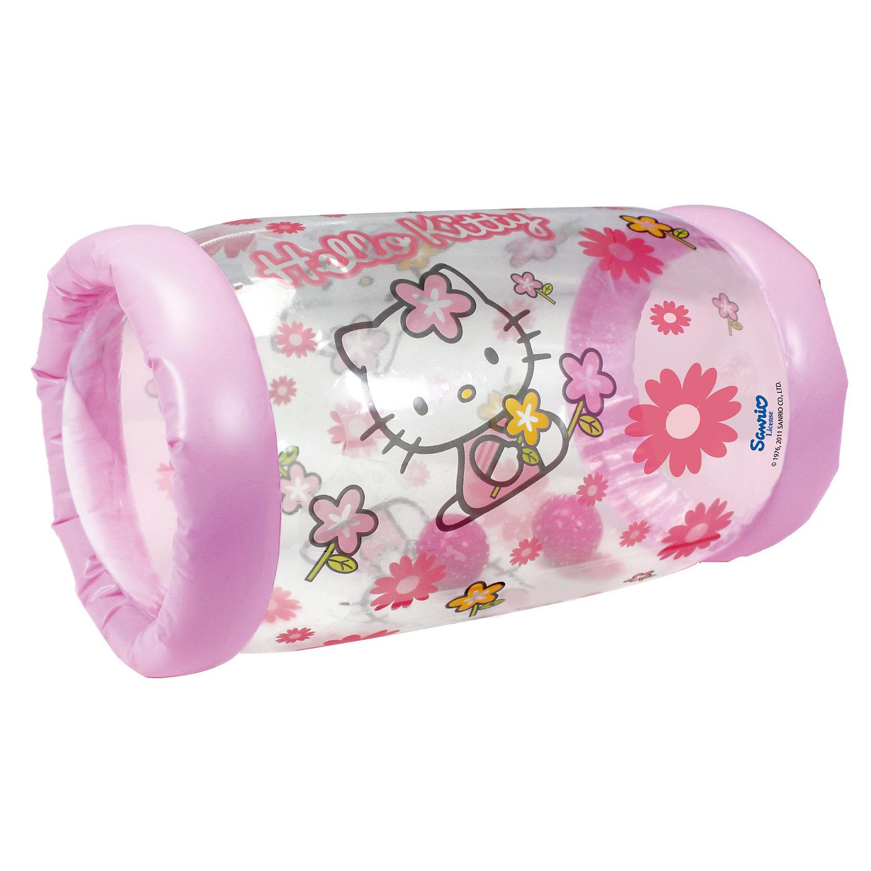 Simba Hello Kitty Надувной цилиндр с 2-я шариками внутри, 42х23 см. simba еви с длинными волосами 2 расчески заколочки hello kitty