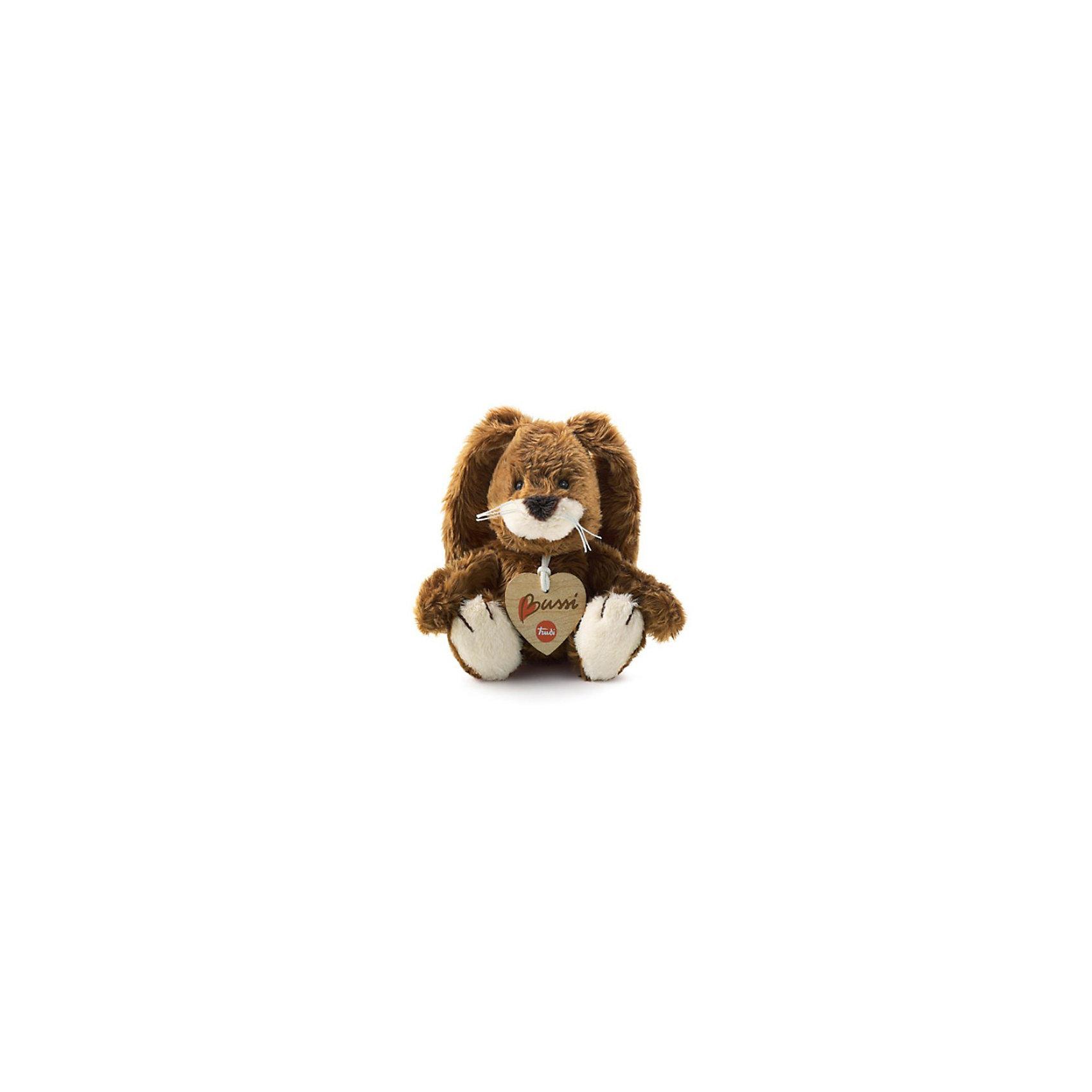 Trudi Коричневый зайчик, 16 смЗамечательный  мягкий Коричневый зайчик станет другом вашему малышу. Невероятно мягкая на ощупь игрушка подарит вам и  вашему ребенку свою нежность и утешит в грустную минуту. Достаточно крепко прижать зайчика к себе, и вы и  ваш ребенок почувствуете все тепло и заботу, с которыми создана эта игрушка.<br><br>Ширина мм: 100<br>Глубина мм: 150<br>Высота мм: 190<br>Вес г: 250<br>Возраст от месяцев: 24<br>Возраст до месяцев: 120<br>Пол: Унисекс<br>Возраст: Детский<br>SKU: 2248684