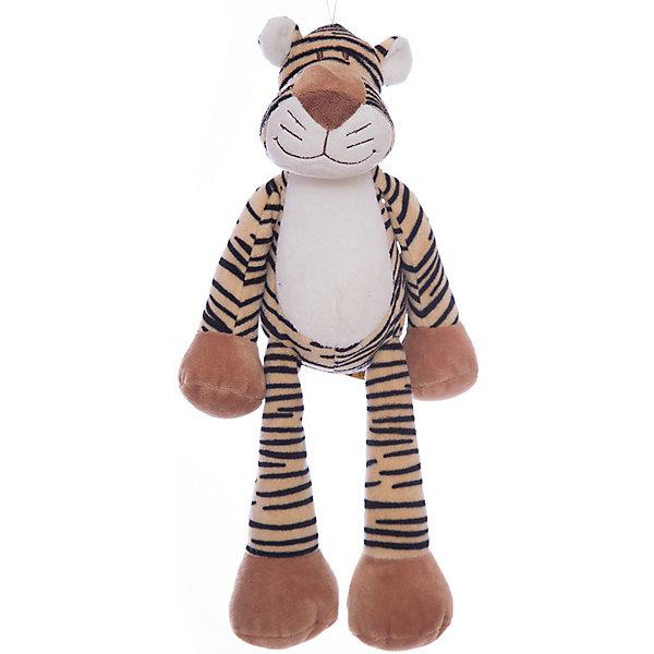 Мягкая игрушка Тигр, Динглисар, TeddykompanietМягкие игрушки животные<br>Характеристики мягкой игрушки Teddykompaniet:<br><br>• размер тигра: 32 см;<br>• имеется утяжелитель, тигр может находиться в сидячем положении;<br>• материал: плюш, синтетический наполнитель;<br>• безопасен для детей.<br><br>Мягкая игрушка Teddykompaniet из серии «Динглисар» представляет собой плюшевого тигра, с которым дети могут играть, спать, ходить на прогулку. Тигр сидит даже на узком бортике, его пушистая шерстка очень приятная на ощупь. <br><br>Мягкую игрушку Тигр, Динглисар, Teddykompaniet<br><br>Ширина мм: 160<br>Глубина мм: 100<br>Высота мм: 300<br>Вес г: 200<br>Возраст от месяцев: 36<br>Возраст до месяцев: 1188<br>Пол: Унисекс<br>Возраст: Детский<br>SKU: 2250219