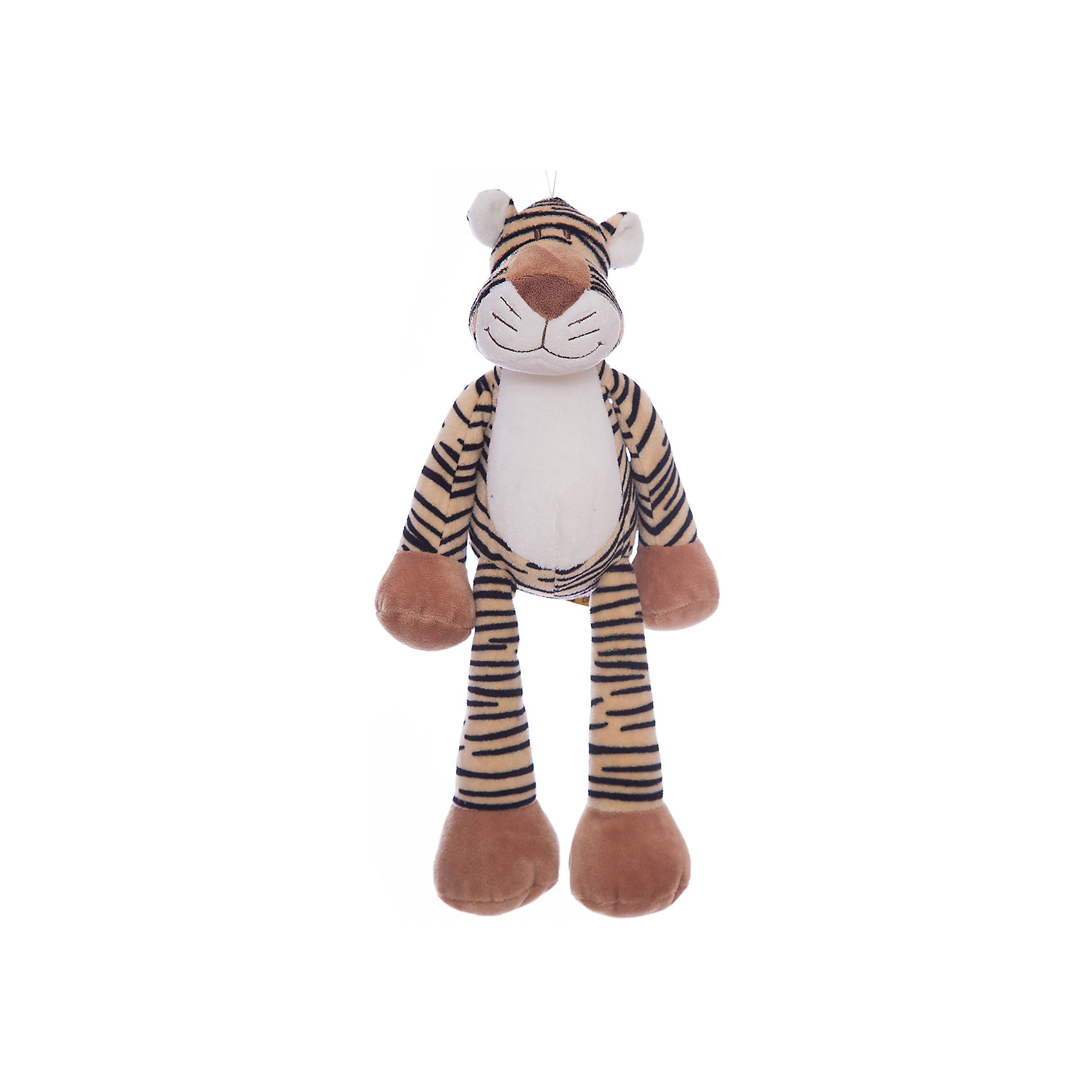 Мягкая игрушка Тигр, Динглисар, TeddykompanietЗвери и птицы<br>Характеристики мягкой игрушки Teddykompaniet:<br><br>• размер тигра: 32 см;<br>• имеется утяжелитель, тигр может находиться в сидячем положении;<br>• материал: плюш, синтетический наполнитель;<br>• безопасен для детей.<br><br>Мягкая игрушка Teddykompaniet из серии «Динглисар» представляет собой плюшевого тигра, с которым дети могут играть, спать, ходить на прогулку. Тигр сидит даже на узком бортике, его пушистая шерстка очень приятная на ощупь. <br><br>Мягкую игрушку Тигр, Динглисар, Teddykompaniet<br><br>Ширина мм: 160<br>Глубина мм: 100<br>Высота мм: 300<br>Вес г: 200<br>Возраст от месяцев: 36<br>Возраст до месяцев: 1188<br>Пол: Унисекс<br>Возраст: Детский<br>SKU: 2250219