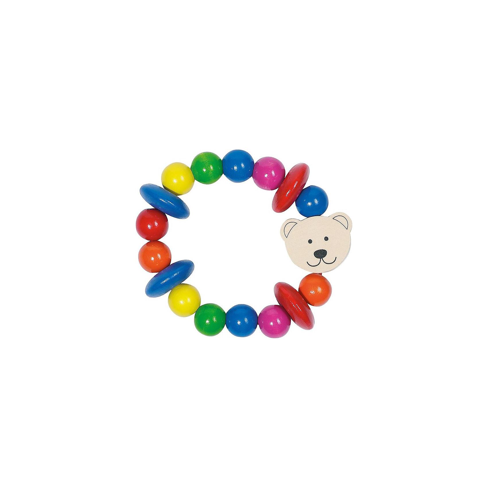 Игрушка-кольцо эластик «Медвежонок», HEIMESS