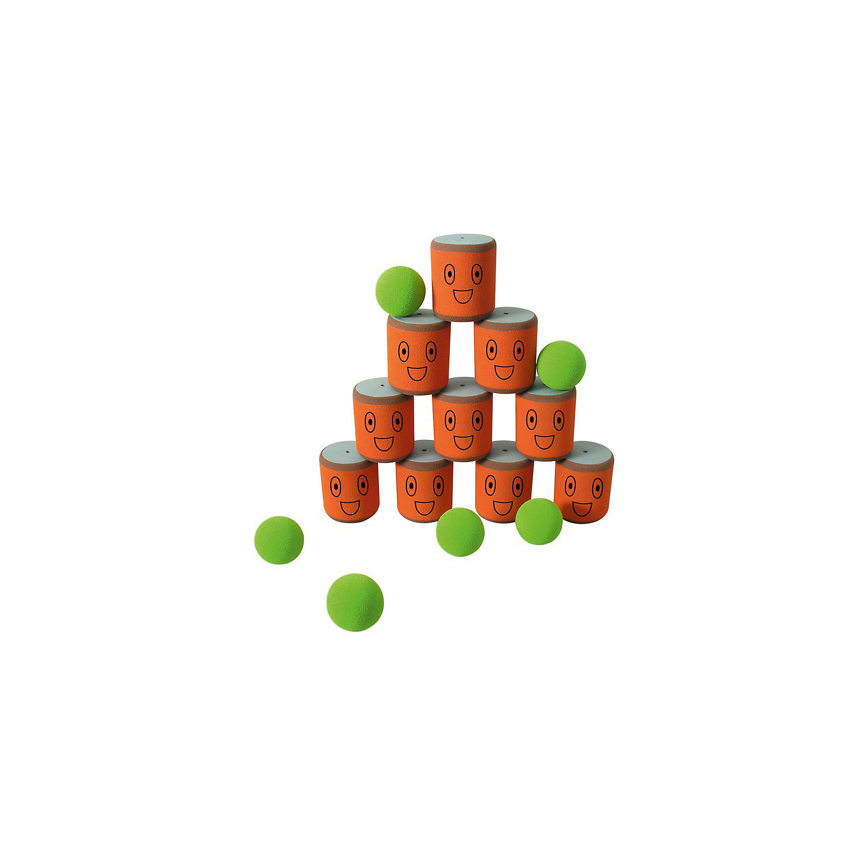 Игра Городки, SafSofАктивные игры<br>Правила:<br>Игра в городки заключается в выбивании фигур, построенных из трех и более городков (банок), мячами с определенного расстояния. <br>Постановка фигур и расстояние, с которого выбиваются фигуры - произвольные. <br>Количество участников: два и более. <br>Каждый участник сбивает фигуру с одного и того же расстояния. На каждую фигуру дается 3 броска. Если участнику удается сбить фигуру с первого броска, он получает 3 балла, со второго - 2 и с третьего - 1 балл соответственно. <br>Выигрывает тот участник, который набирает наибольшее количество баллов за игру. <br><br>В наборе: 10 банок, 6 мячей для сбивания фигур.<br><br>ВНИМАНИЕ! Данный артикул имеется в наличии в разных цветовых исполнениях. К сожалению, заранее выбрать определенный цвет не возможно.<br><br>Ширина мм: 495<br>Глубина мм: 370<br>Высота мм: 85<br>Вес г: 810<br>Возраст от месяцев: 36<br>Возраст до месяцев: 1188<br>Пол: Унисекс<br>Возраст: Детский<br>SKU: 2251817