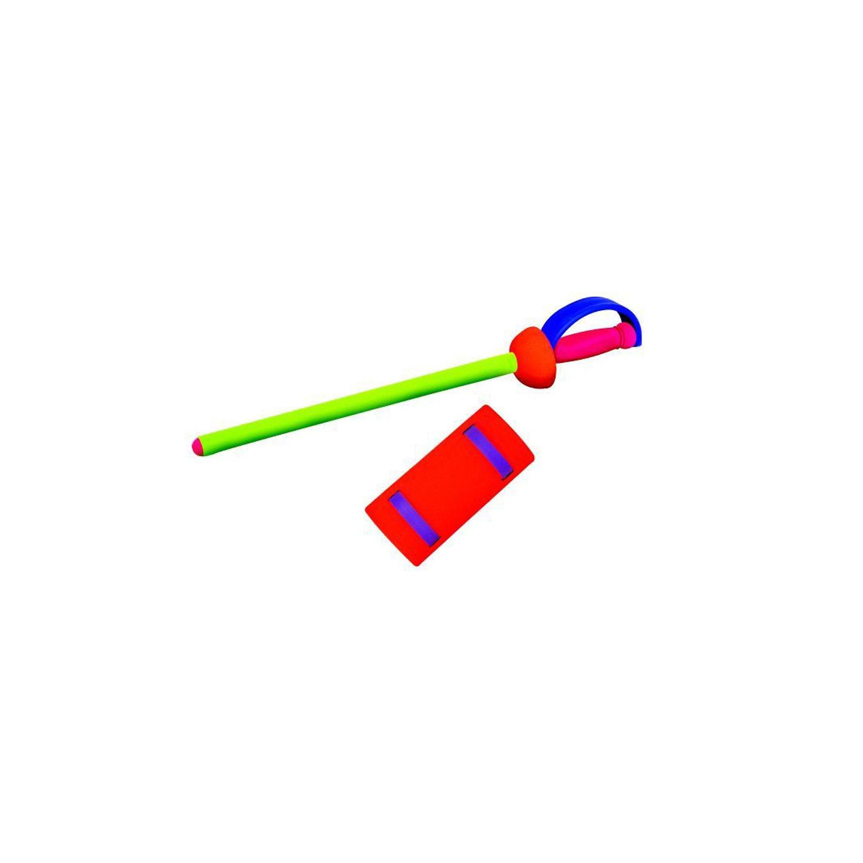 SafSof Игрушка Рыцарский мечИгрушечное оружие<br>В наборе рыцарский меч 60 см и защита на руку. Упаковано в прозрачный пластиковый чехол, который можно носить на плече.<br>Меч изготовлен из вспененной резины<br><br>Ширина мм: 278<br>Глубина мм: 355<br>Высота мм: 640<br>Вес г: 64<br>Возраст от месяцев: 36<br>Возраст до месяцев: 1188<br>Пол: Мужской<br>Возраст: Детский<br>SKU: 2251828