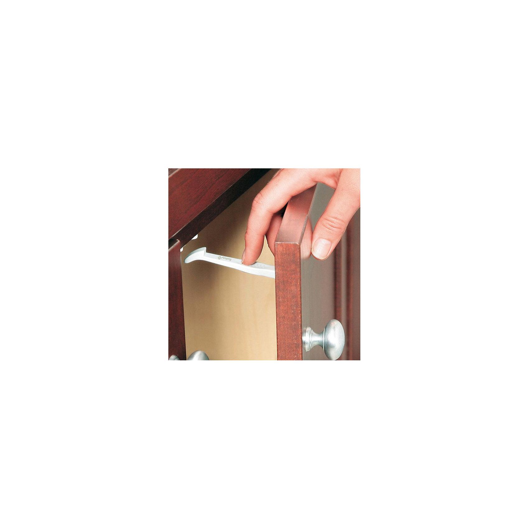 Блокировка (7шт.) для выдвижных ящиков и дверец шкафа