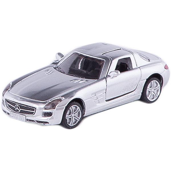SIKU 1445 Мерседес SLSМашинки<br>Мерседес SLS 1445, Siku, станет замечательным подарком для автолюбителей всех возрастов. Модель представляет из себя реалистичную копию популярного спорткара Мерседес SLS и отличается высокой степенью детализации и тщательной проработкой всех элементов. Машина оснащена прозрачными лобовыми стеклами, в салоне можно увидеть сиденья и руль, двери открываются вверх. Колеса вращаются, широкие шины оборудованы спортивными колесными дисками. Корпус модели выполнен из металла, детали изготовлены из ударопрочной пластмассы.<br><br>Дополнительная информация:<br><br>- Материал: металл, пластик.<br>- Масштаб: 1:55.<br>- Размер машинки: 8,3 x 4,7 x 3,4 см.<br>- Размер упаковки: 10 x 8 x 3 см.<br>- Вес: 59 гр.<br><br>1445 Мерседес SLS, Siku, можно купить в нашем интернет-магазине.<br><br>Ширина мм: 97<br>Глубина мм: 78<br>Высота мм: 48<br>Вес г: 63<br>Возраст от месяцев: 36<br>Возраст до месяцев: 96<br>Пол: Мужской<br>Возраст: Детский<br>SKU: 2257964