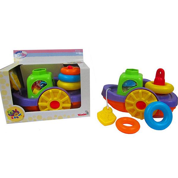 Simba Игрушки для ванныИгрушки для ванной<br>Simba Игрушки для ванны  -  занимательная игрушка 3 –в -1 для купания вашего малыша, выполненная в виде кораблика.<br><br>Чтобы купание в ванной проходило для вашего малыша еще интересней, компания Simbaприготовила для него несколько игрушек, укомплектованных в один набор. <br><br>Сюда входит яркий кораблик, сочитающий в себе, помимо водоплавающего судна,  также  пирамидку и сортер, которые полюбятся самым  маленьким  карапузам. <br><br>Дополнительная информация:<br><br>- Легкая игрушка, которая не тонет в воде.<br>- Материал: пластмасса.<br>- Размер игрушки: длина - 260 мм, ширина - 140 мм, высота - 170 мм.<br><br>Малыш с удовольствием будет принимать в ванну, ведь вместе с ним теперь будет купаться такая чудесная  и яркая игрушка в форме кораблика. Купание  станет еще веселей и приятней!<br><br>Ширина мм: 220<br>Глубина мм: 270<br>Высота мм: 150<br>Вес г: 400<br>Возраст от месяцев: 12<br>Возраст до месяцев: 2147483647<br>Пол: Мужской<br>Возраст: Детский<br>SKU: 2261014