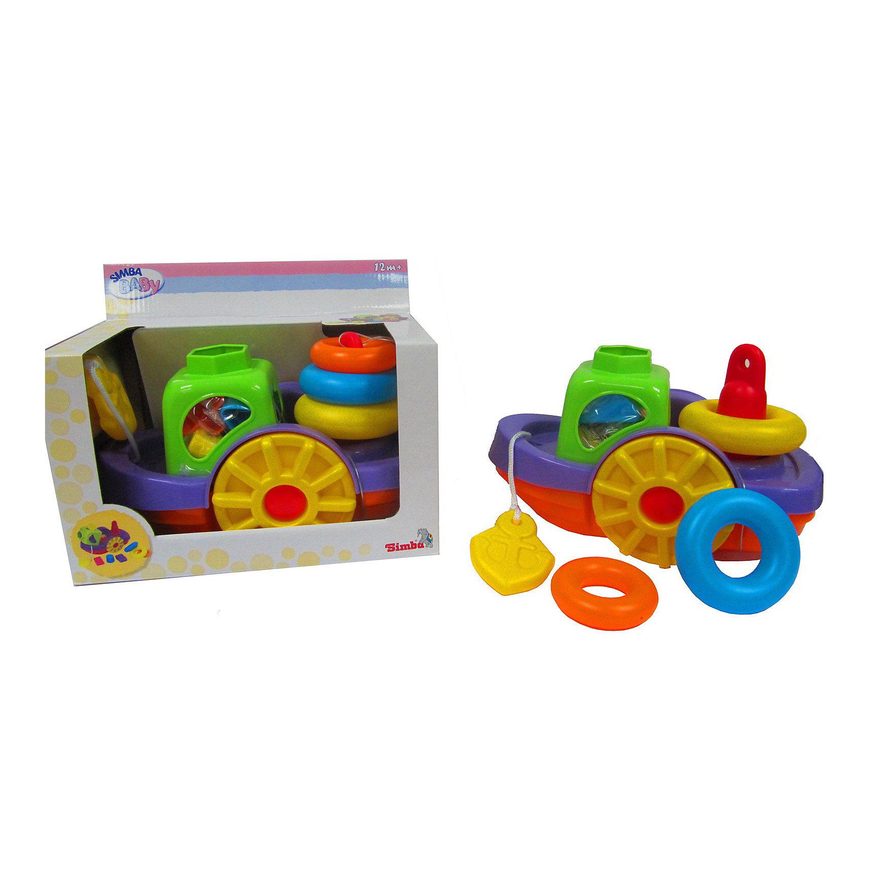 Simba Игрушки для ванныSimba Игрушки для ванны  -  занимательная игрушка 3 –в -1 для купания вашего малыша, выполненная в виде кораблика.<br><br>Чтобы купание в ванной проходило для вашего малыша еще интересней, компания Simbaприготовила для него несколько игрушек, укомплектованных в один набор. <br><br>Сюда входит яркий кораблик, сочитающий в себе, помимо водоплавающего судна,  также  пирамидку и сортер, которые полюбятся самым  маленьким  карапузам. <br><br>Дополнительная информация:<br><br>- Легкая игрушка, которая не тонет в воде.<br>- Материал: пластмасса.<br>- Размер игрушки: длина - 260 мм, ширина - 140 мм, высота - 170 мм.<br><br>Малыш с удовольствием будет принимать в ванну, ведь вместе с ним теперь будет купаться такая чудесная  и яркая игрушка в форме кораблика. Купание  станет еще веселей и приятней!<br><br>Ширина мм: 220<br>Глубина мм: 270<br>Высота мм: 150<br>Вес г: 400<br>Возраст от месяцев: 12<br>Возраст до месяцев: 2147483647<br>Пол: Мужской<br>Возраст: Детский<br>SKU: 2261014
