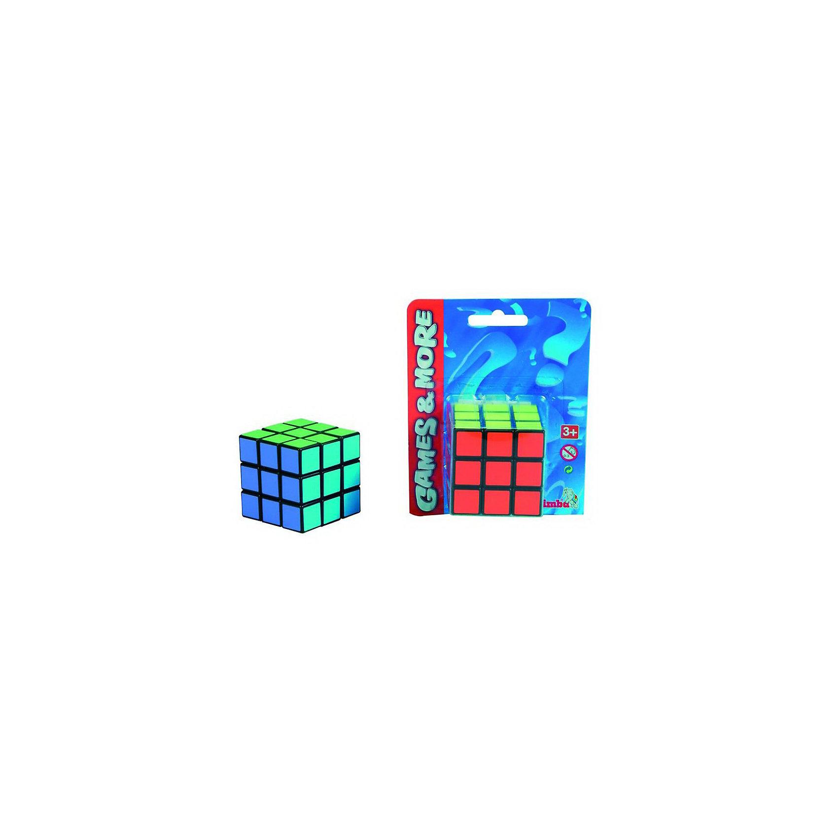 Головоломка, SimbaГоловоломки<br>Знаменитая головоломка Кубик Рубика займет ребенка как дома, так и в дальней поездке. Игрушка способствует развитию логики и пространственного мышления.<br><br>Дополнительная информация:<br><br>- Материал: высококачественная пластмасса<br>- Размер игрушки: 5,5 х 5,5 см.<br>- Размер упаковки: 12 х 5,5 х 15 см.<br><br>Приобрести головоломку можно в нашем магазине<br><br>Ширина мм: 149<br>Глубина мм: 118<br>Высота мм: 61<br>Вес г: 99<br>Возраст от месяцев: 96<br>Возраст до месяцев: 156<br>Пол: Унисекс<br>Возраст: Детский<br>SKU: 2261053
