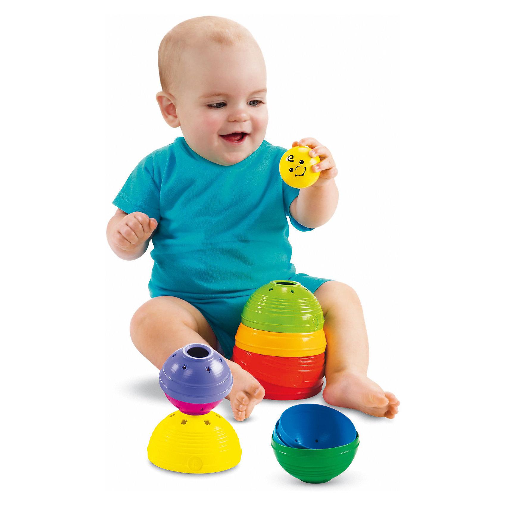 Fisher-Price Развивающие стаканчикиРазвивающие игрушки<br>Пирамидка из развивающих стаканчиков от Fisher-Price. <br><br>Популярная игрушка в новом формате! Ваш малыш может ставить стаканчики друг на другу или складывать их друг в друга. Стаканчики, у которых примерно одинаковый размер, можно сложить в шар. Шарик с колокольчиком можно прятать в стаканчиках или поместить на пирамиду.<br><br>Дополнительная информация:<br><br>- Размер упаковки (д/ш/в): 21,7х18х13,1 см<br><br>Ширина мм: 223<br>Глубина мм: 185<br>Высота мм: 132<br>Вес г: 492<br>Возраст от месяцев: 6<br>Возраст до месяцев: 36<br>Пол: Унисекс<br>Возраст: Детский<br>SKU: 2267096
