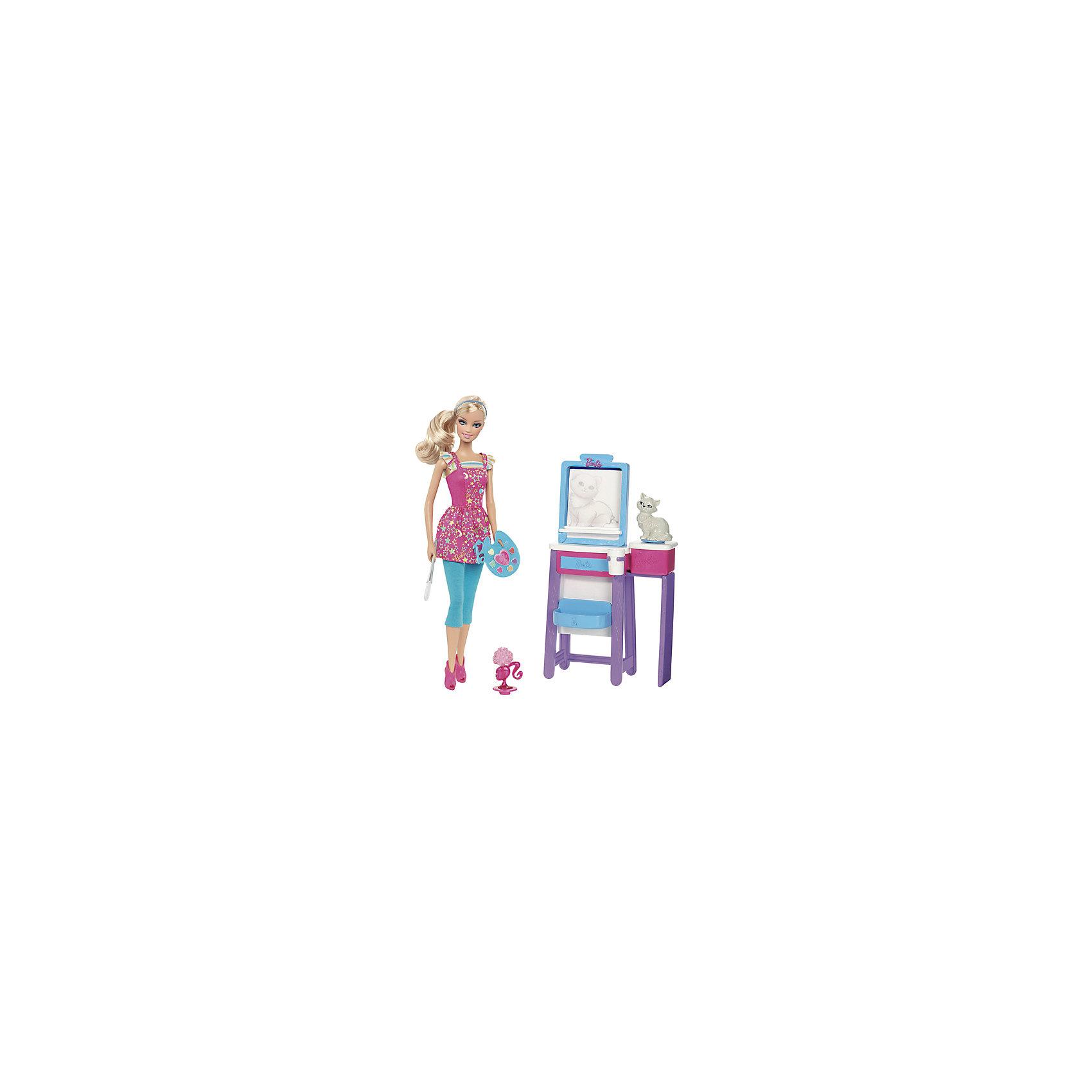 Барби Я могу стать. Учительница рисования кукла