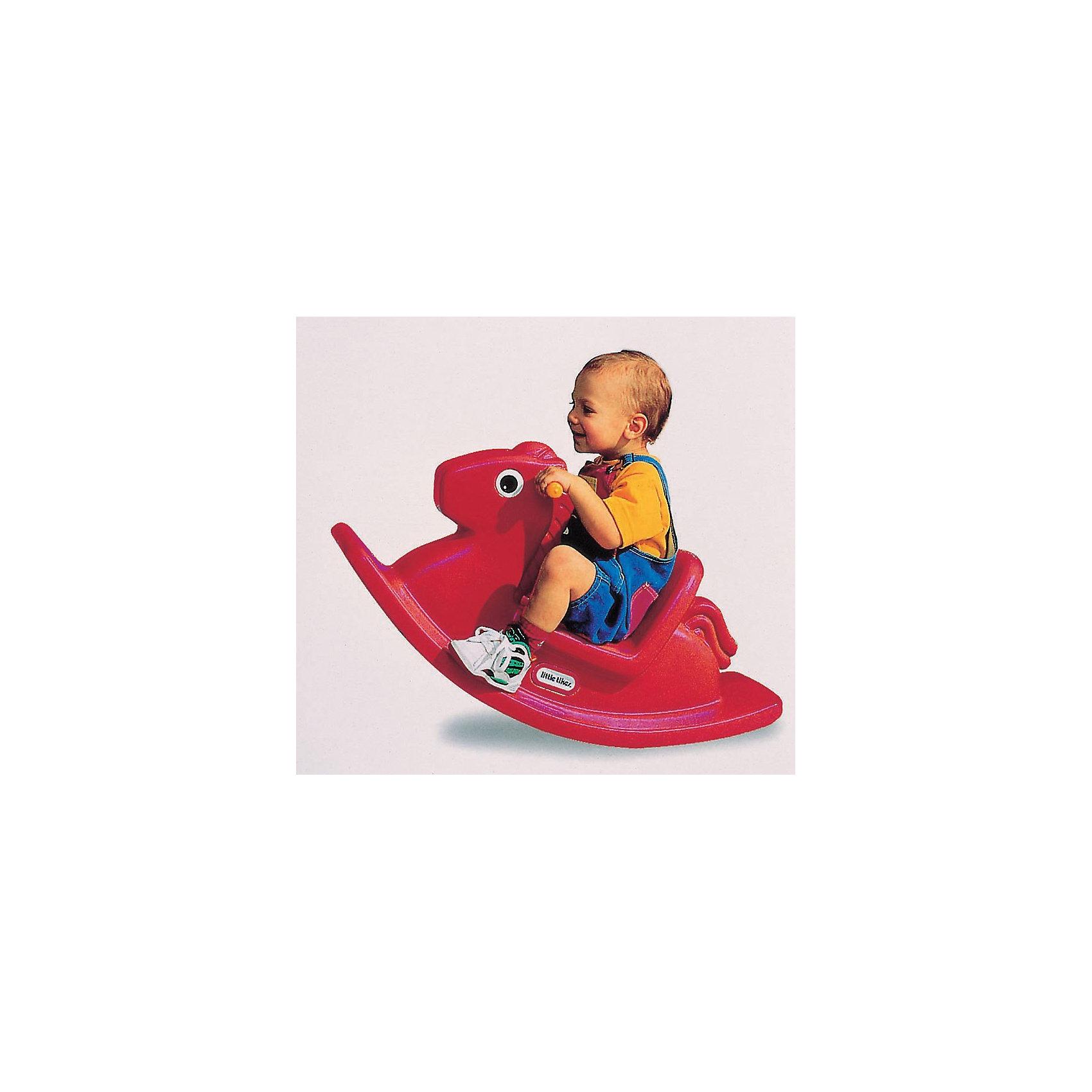 Little tikes Игрушка-качалка ЛошадкаКачалка изготовлена из прочного пластика, сконструирована с учетом особенностей строения тела ребенка: высокая спинка,  удобное сиденье и широкое основание.<br>Может использоваться как дома, так и на открытом воздухе.<br><br>При изготовлении качалки применяется метод центробежного литья, что позволяет сделать ее ударопрочной  и устойчивой к перепадам температур.<br>Выдерживает температуру до -18?С<br><br>Качалка предназначена для детей от 1 года до 3-х лет.<br>Размеры качалки: 86 х 29 х 43 см (длина, ширина, высота)<br>Цвет качалки: красный<br><br>Ширина мм: 860<br>Глубина мм: 290<br>Высота мм: 430<br>Вес г: 4000<br>Возраст от месяцев: 12<br>Возраст до месяцев: 36<br>Пол: Унисекс<br>Возраст: Детский<br>SKU: 2269294