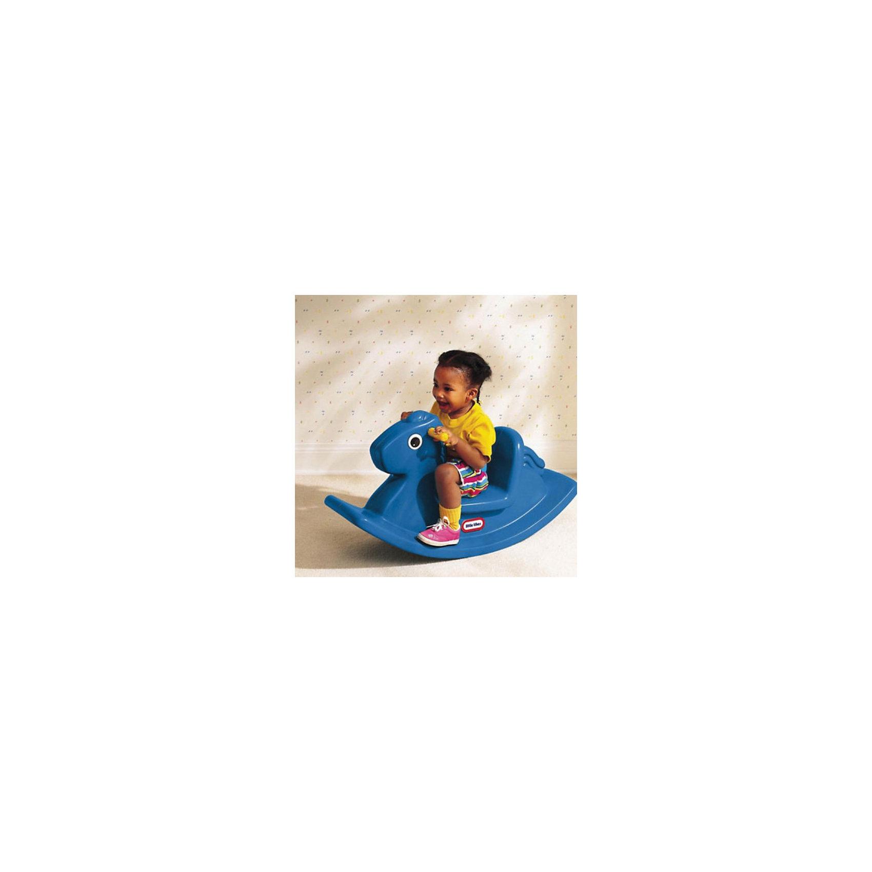 Little tikes Игрушка-качалка ЛошадкаКачели и качалки<br>Little tikes Игрушка-качалка Лошадка  изготовлена из прочного пластика, сконструирована  с учетом особенностей строения тела ребенка: высокая спинка, удобное сиденье и широкое основание.<br>Может использоваться как дома, так и на открытом воздухе.<br><br>При изготовлении качалки применяется метод  центробежного литья, что позволяет сделать ее ударопрочной и устойчивой к перепадам температур.<br>Выдерживает температуру до -18?С<br><br>Качалка предназначена для детей от 1 года до 3-х лет<br>Размеры качалки: 86 х 29 х 43 см (длина, ширина, высота)<br>Цвет качалки: синий<br><br>Ширина мм: 860<br>Глубина мм: 290<br>Высота мм: 430<br>Вес г: 4000<br>Возраст от месяцев: 12<br>Возраст до месяцев: 36<br>Пол: Унисекс<br>Возраст: Детский<br>SKU: 2269295