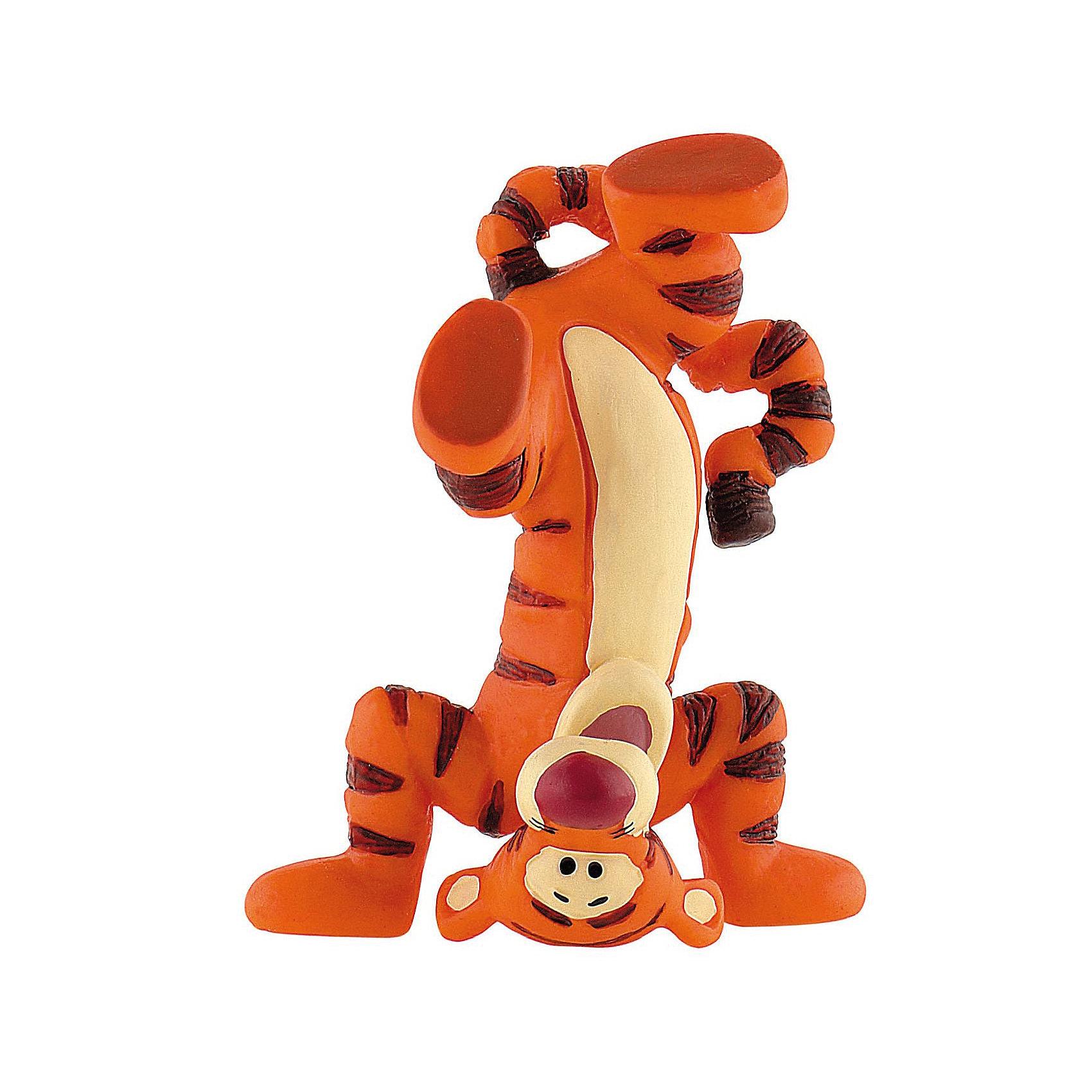 Фигурка Тигруля, стоящий на голове, Винни ПухКоллекционные и игровые фигурки<br>Фигурка Тигрули из мультфильма студии Уолта Диснея «Винни-Пух и все, все, все». Наш веселый и жизнерадостный Тигруля стоит на голове! И это еще далеко не все, что он умеет! Тигруля прекрасно прыгает, лазает по деревьям и, конечно же, бегает. Фигурка персонажа отражает его безмерную энергичность и веселый нрав. Игрушка выполнена из высококачественных, нетоксичных материалов и безопасна для детей.<br><br>Дополнительная информация:<br><br>Размер:6,7 см <br>Материал: термопластичный каучук высокого качества. <br> <br>Фигурку Тигруля, стоящий на голове,  Disney можно купить в нашем магазине.<br><br>Ширина мм: 105<br>Глубина мм: 139<br>Высота мм: 32<br>Вес г: 17<br>Возраст от месяцев: 36<br>Возраст до месяцев: 1164<br>Пол: Женский<br>Возраст: Детский<br>SKU: 2270186
