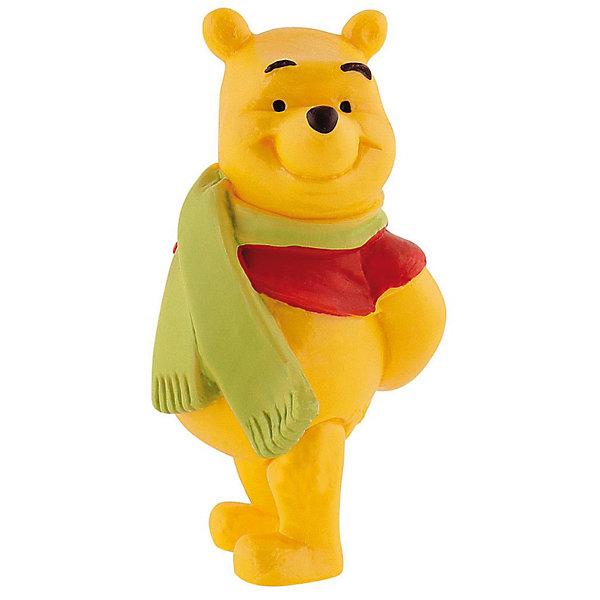 Фигурка Винни с шарфом, Винни ПухФигурки из мультфильмов<br>Фигурка медвежонка Винни-Пуха из мультфильма студии Уолта Диснея «Винни-Пух и все, все, все». Позвольте представиться, я - Винни-Пух! Замечательный плюшевый любимец детей и взрослых. Больше всего на свете я люблю сладкий и душистый мед. Мой лучший друг – поросенок Хрюня. Перед вами моя фигурка в шарфике, милая и обаятельная, с легкой дружелюбной улыбкой. Приходите ко мне, я очень хочу стать вашим другом! Игрушка выполнена из высококачественных, нетоксичных материалов и безопасна для детей.<br><br>Дополнительная информация:<br><br>Размер:6,1 см <br>Материал: термопластичный каучук высокого качества. <br> <br>Фигурку Винни с шарфом,  Disney можно купить в нашем магазине.<br>Ширина мм: 33; Глубина мм: 33; Высота мм: 64; Вес г: 24; Возраст от месяцев: 36; Возраст до месяцев: 1164; Пол: Унисекс; Возраст: Детский; SKU: 2270192;