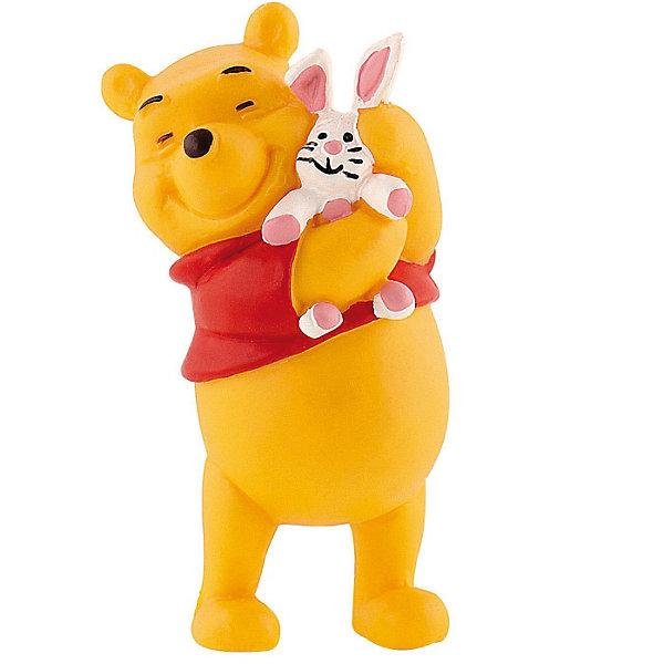 Фигурка Винни и кролик, Винни ПухФигурки из мультфильмов<br>Фигурка Винни и Кролик из мультфильма студии Уолта Диснея «Винни-Пух и все, все, все». Образованный Кролик живет в норе. Он умеет читать, его пытливый ум помогает ему решить самые трудные ситуации. Персонаж любит Винни-Пуха за его веселый нрав и жизнелюбие. Кролик дружит со всеми обитателями леса, но, по сути, является одиночкой. Фигурка Винни-Пуха с Кроликом, выражает тепло и привязанность персонажей друг к другу. Игрушка выполнена из высококачественных, нетоксичных материалов и безопасна для детей.<br><br>Дополнительная информация:<br><br>Размер:6,3 см <br>Материал: термопластичный каучук высокого качества. <br> <br>Фигурку Винни и кролик,  Disney можно купить в нашем магазине.<br>Ширина мм: 26; Глубина мм: 26; Высота мм: 66; Вес г: 23; Возраст от месяцев: 36; Возраст до месяцев: 1164; Пол: Женский; Возраст: Детский; SKU: 2270193;