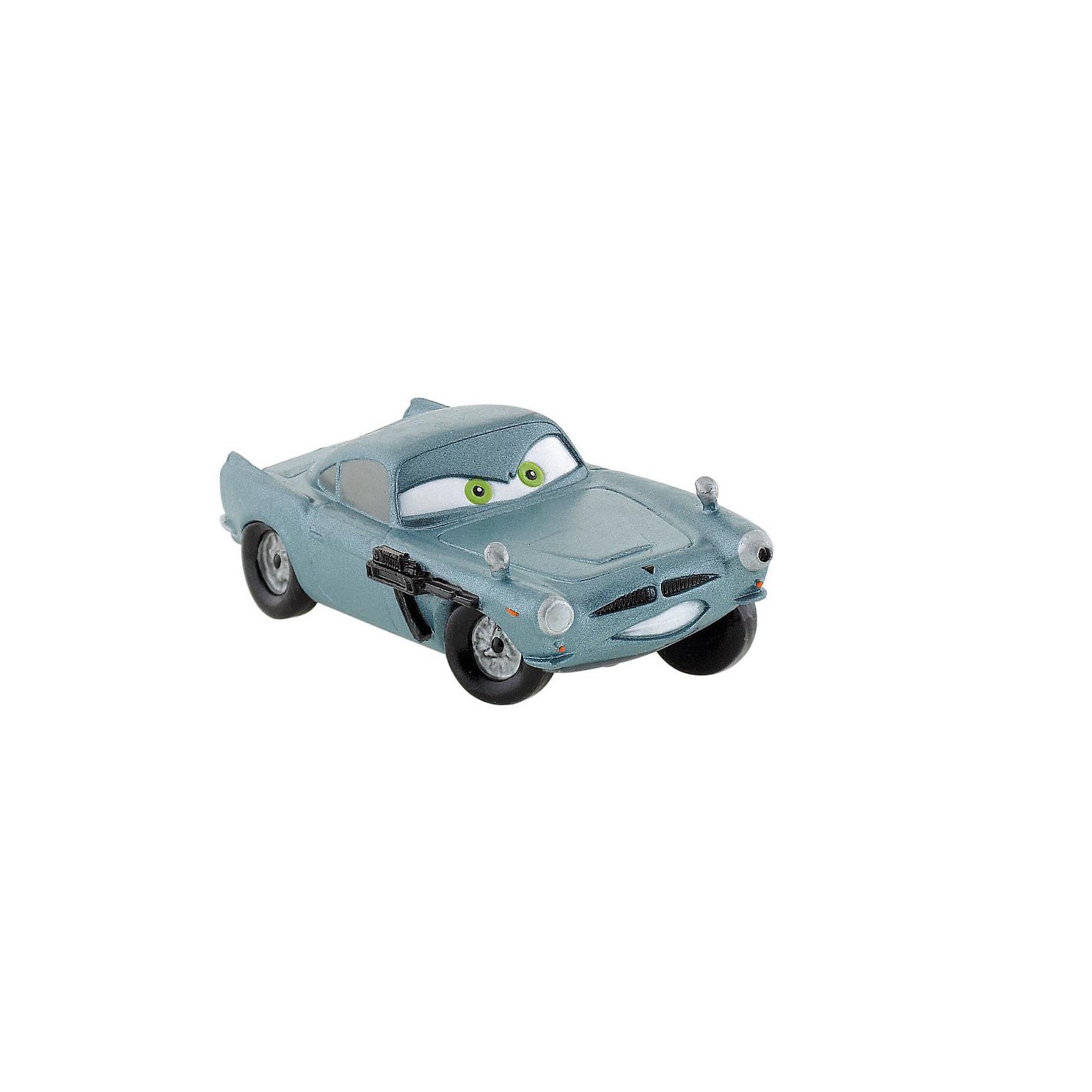 Фигурка Финн МакМиссл,  ТачкиФигурка Тачки Финн МакМиссл из мультфильма студии Уолта Диснея и компании Пиксар «Тачки 2». Серебристо - голубой автомобиль марки Aston Martin DB5. Его глаза цвета морской волны горят, освещая дорогу. Наш персонаж - настоящий шпион, работающий на Британскую разведку. Машинка напичкана множеством хитроумных приспособлений, помогающих выбраться из любой сложной ситуации. Будучи настоящим шпионом, Финн МакМиссл подозревает, что за Мировым Гран-При кроется какой-то заговор. Фигурка машинки очаровательна и элегантна. Персонаж явно напоминает автомобиль Джеймса Бонда. Игрушка выполнена из высококачественных, нетоксичных материалов и безопасна для детей. <br><br>Дополнительная информация:<br><br>Размер:7,2 см <br>Материал: термопластичный каучук высокого качества. <br>  <br>Фигурку Финн МакМиссл,  Тачки можно купить в нашем магазине.<br><br>Ширина мм: 79<br>Глубина мм: 32<br>Высота мм: 28<br>Вес г: 13<br>Возраст от месяцев: 36<br>Возраст до месяцев: 96<br>Пол: Мужской<br>Возраст: Детский<br>SKU: 2270202