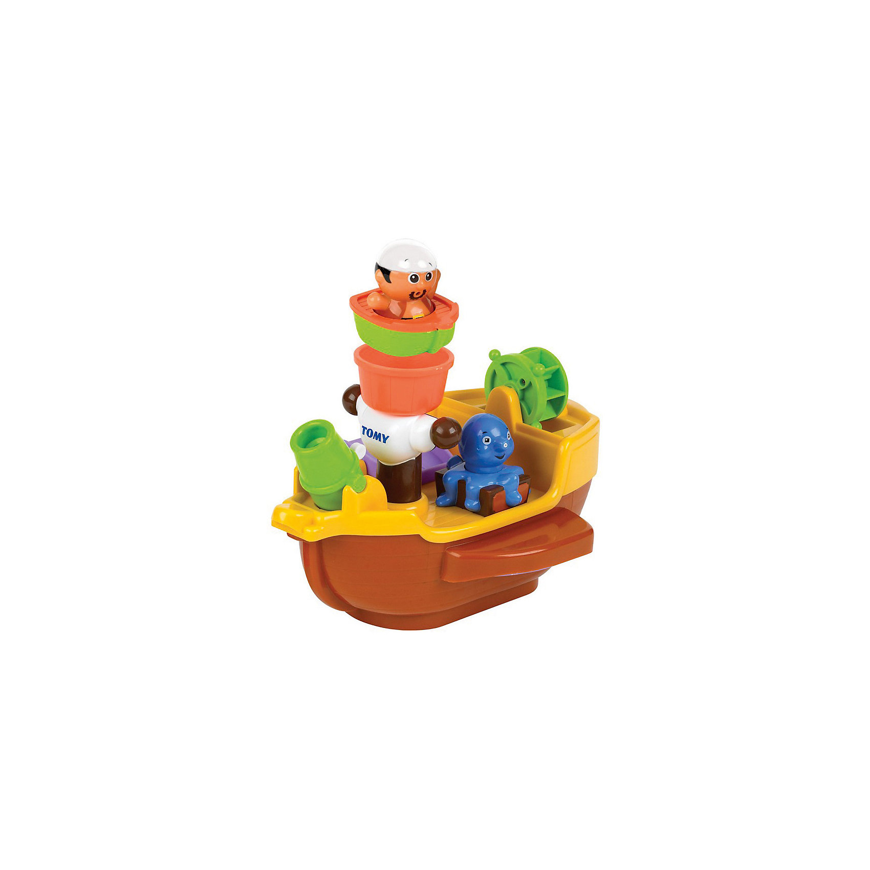 """Игрушка для ванной """"Пиратский корабль"""", TOMY от myToys"""