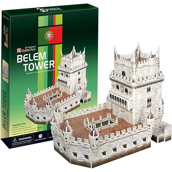 Пазл 3D Башня Белен (Португалия), 46 деталей, CubicFun3D пазлы<br>Торре де Белем , что в переводе означает Башня Белема, расположен на правом берегу реки Тежу, в районе Белем Лиссабона, столице Португалии. Построенный в эпоху Великих Открытий, он являлся одним из основных звеньев защиты столицы Португалии как от пиратов, так и от возможных атак соседних государств. Для многих моряков того времени замок был последним клочком родной земли, который они видели перед многодневным морским переходом. В наши дни замок стал эмблемой Лиссабона и Португалии, а для коренных жителей, символом былого могущества Португалии на суше и на море. <br><br>УРОВЕНЬ СЛОЖНОСТИ - 2<br><br>Функции<br>- помогает в развитии логики и творческих способностей ребенка;<br>- помогает в формировании мышления, речи, внимания, восприятия и воображения;<br>- развивает моторику рук;<br>- расширяет кругозор ребенка и стимулирует к познанию новой информации;<br><br>Практические характеристики:<br>- обучающая, яркая и реалистичная модель;<br>- идеально и легко собирается без инструментов;<br>- увлекательный игровой процесс;<br>- тематический ассортимент;<br>- новый качественный материал (ламинированный пенокартон)<br><br>Ширина мм: 19<br>Глубина мм: 220<br>Высота мм: 300<br>Вес г: 279<br>Возраст от месяцев: 60<br>Возраст до месяцев: 144<br>Пол: Унисекс<br>Возраст: Детский<br>SKU: 2276286