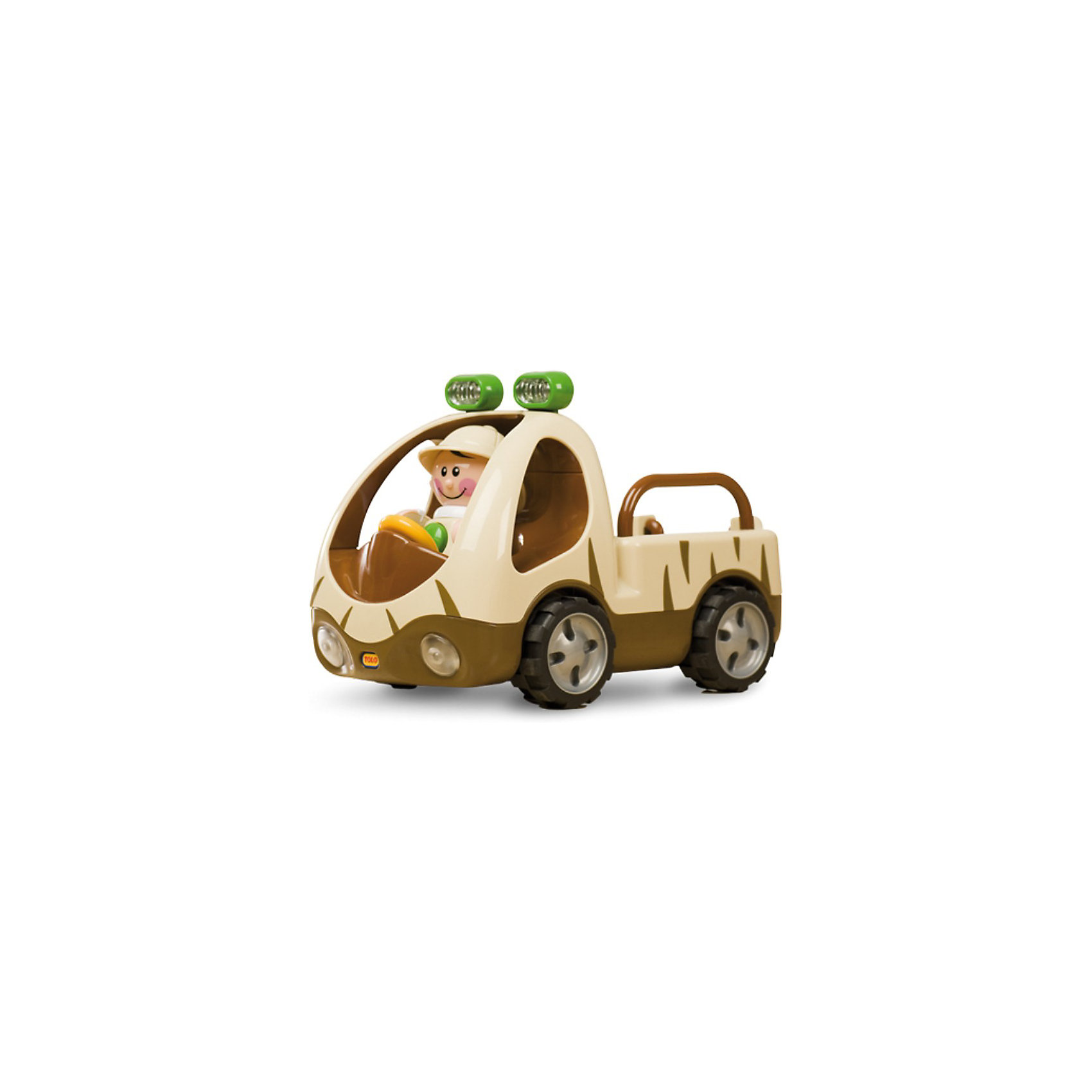 TOLO Машинка с фигуркой Джип-Сафари, TOLO игрушки для ванны tolo toys рыбки магнитные