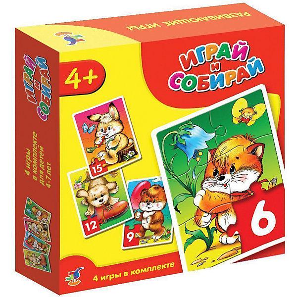 Набор пазлов Веселые малыши, 6*9*12*15 деталей, Дрофа-МедиаПазлы для малышей<br>Набор пазлов Веселые малыши, 6*9*12*15 деталей, Дрофа-Медиа (Drofa-media).<br><br>В набор входят 4 пазла :<br>- котёнок: 6 элементов<br>- медвежонок: 9 элементов<br>- щенок: 12 элементов<br>- зайчонок: 15 элементов<br><br>Картинки в этом наборе очень простые и понятные даже малышам.<br>Игры-мозаики учат детей собирать простые картинки подбирать детали по форме и изображению, способствуют развитию внимания, наблюдательности, наглядно-образного мышления и усидчивости, совершенствуют мелкую моторику рук.<br><br>Порадуйте Вашего малыша прекрасным подарком!<br><br>Дополнительная информация: <br><br>- В комплекте: 4 мозаики, состоящие из 6, 9, 12, и 15 элементов<br>- Материал: плотный картон<br>- Размер каждого изображения:160 х 230 мм<br>- Размер упаковки: 180 х 38 х 182 мм<br>- Вес: 210 г.<br><br>Набор пазлов Веселые малыши, 6*9*12*15 деталей, Дрофа-Медиа (Drofa-media) можно купить в нашем интернет-магазине.<br>Ширина мм: 180; Глубина мм: 38; Высота мм: 182; Вес г: 210; Возраст от месяцев: 48; Возраст до месяцев: 84; Пол: Унисекс; Возраст: Детский; SKU: 2281422;
