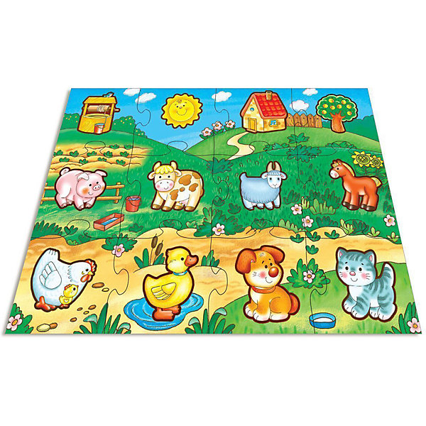 Мозаика для малышей В деревне, Дрофа-МедиаМозаика<br>Мозаика для малышей В деревне, Дрофа-Медиа (Drofa-media).<br><br>Крупные и яркие детали мозаики удобно собирать на полу. Ребёнок научится складывать сюжетную картинку из нескольких частей и подбирать подходящие по форме недостающие фрагменты рисунка. Игры развивают зрительное восприятие, образное мышление и мелкую моторику рук, расширяют кругозор, познакомят малышей с разными животными.<br>Набор состоит из 12 крупных пазловых элементов, внутри каждого пазла вырублена фигурка.<br>Можно использовать как рамку с фигуркой-вкладышем. <br><br>Станет прекрасным подарком любознательному малышу!<br><br>Дополнительная информация: <br><br>- В комплекте: 12 крупных пазловых элементов, внутри каждого пазла вырублена фигурка<br>- Материал: плотный картон<br>- Размер собранного поля 700 х 500 мм. <br>- Размер упаковки: 265 х 50 х 275 мм<br>- Вес: 620 г.<br><br>Мозаику для малышей В деревне, Дрофа-Медиа (Drofa-media) можно купить в нашем интернет-магазине.<br><br>Ширина мм: 265<br>Глубина мм: 50<br>Высота мм: 275<br>Вес г: 620<br>Возраст от месяцев: 36<br>Возраст до месяцев: 60<br>Пол: Унисекс<br>Возраст: Детский<br>SKU: 2281431