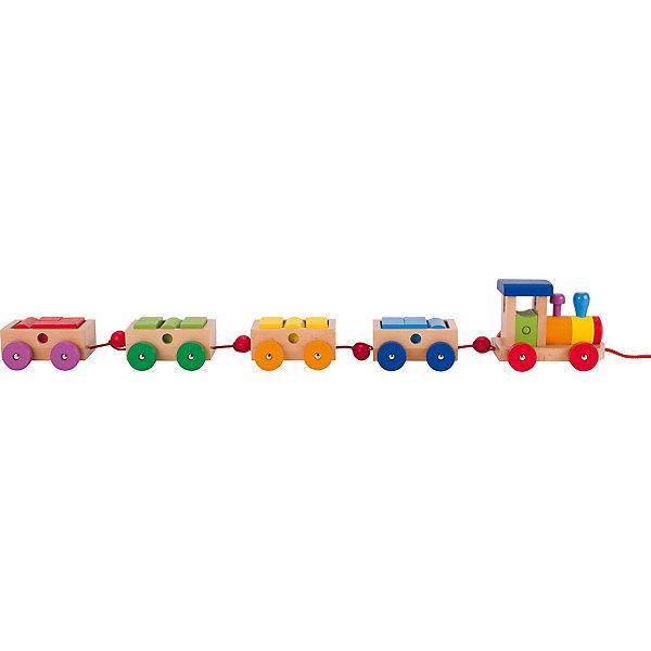 Паровозик Филадельфия, gokiДеревянные игрушки<br>Характеристика:<br><br>- Возраст: от 1 года.<br>- Размер упаковки: 60x10x9,5 см.<br>- Вес в упаковке: 1200 г.<br><br>Такая забавная игра поспособствует развитию мелкой моторике рук, а еще, научит различать цвета и формы. <br><br>Паровозик Филадельфия goki, можно купить в нашем магазине.<br><br>Ширина мм: 570<br>Глубина мм: 114<br>Высота мм: 103<br>Вес г: 1200<br>Возраст от месяцев: 24<br>Возраст до месяцев: 48<br>Пол: Мужской<br>Возраст: Детский<br>SKU: 2319495