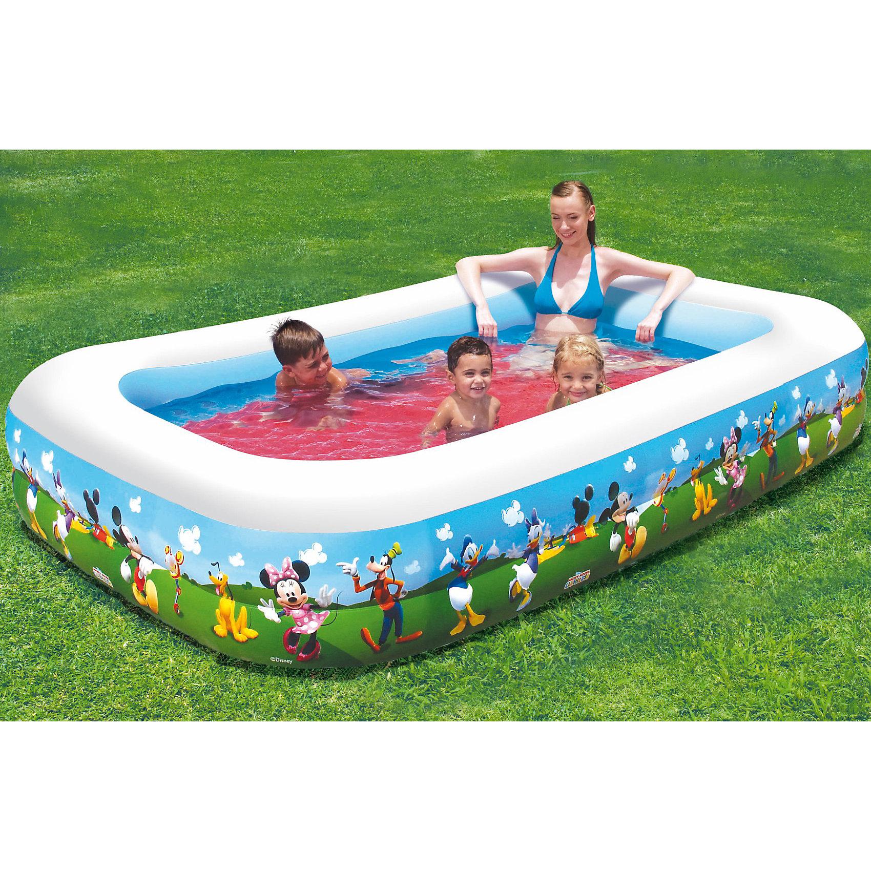 Bestway Надувной бассейн Семейный, 91008 Bestway, Микки Маус и друзья