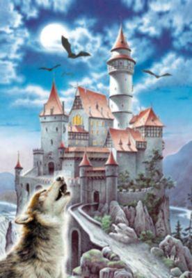 Пазл Волк , 1000 деталей, Castorland