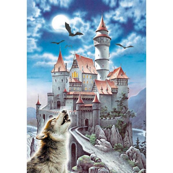 Пазл Волк, 1000 деталей, CastorlandПазлы для детей постарше<br>Пазл Волк , 1000 деталей, Castorland (Касторленд)<br><br>Дополнительная информация:<br><br>- Изображение: Фентези. Волк воет на луну<br>- Количество деталей: 1000<br>- Материал: плотный картон<br>- Размер собранного пазла: 680x470 мм <br>- Размер коробки: 350x250x52 мм<br>- Вес: 600 г.<br><br>Пазл Волк , 1000 деталей, Castorland (Касторленд) можно купить в нашем интернет-магазине.<br><br>Ширина мм: 350<br>Глубина мм: 250<br>Высота мм: 50<br>Вес г: 600<br>Возраст от месяцев: 72<br>Возраст до месяцев: 1188<br>Пол: Унисекс<br>Возраст: Детский<br>Количество деталей: 1000<br>SKU: 2328146