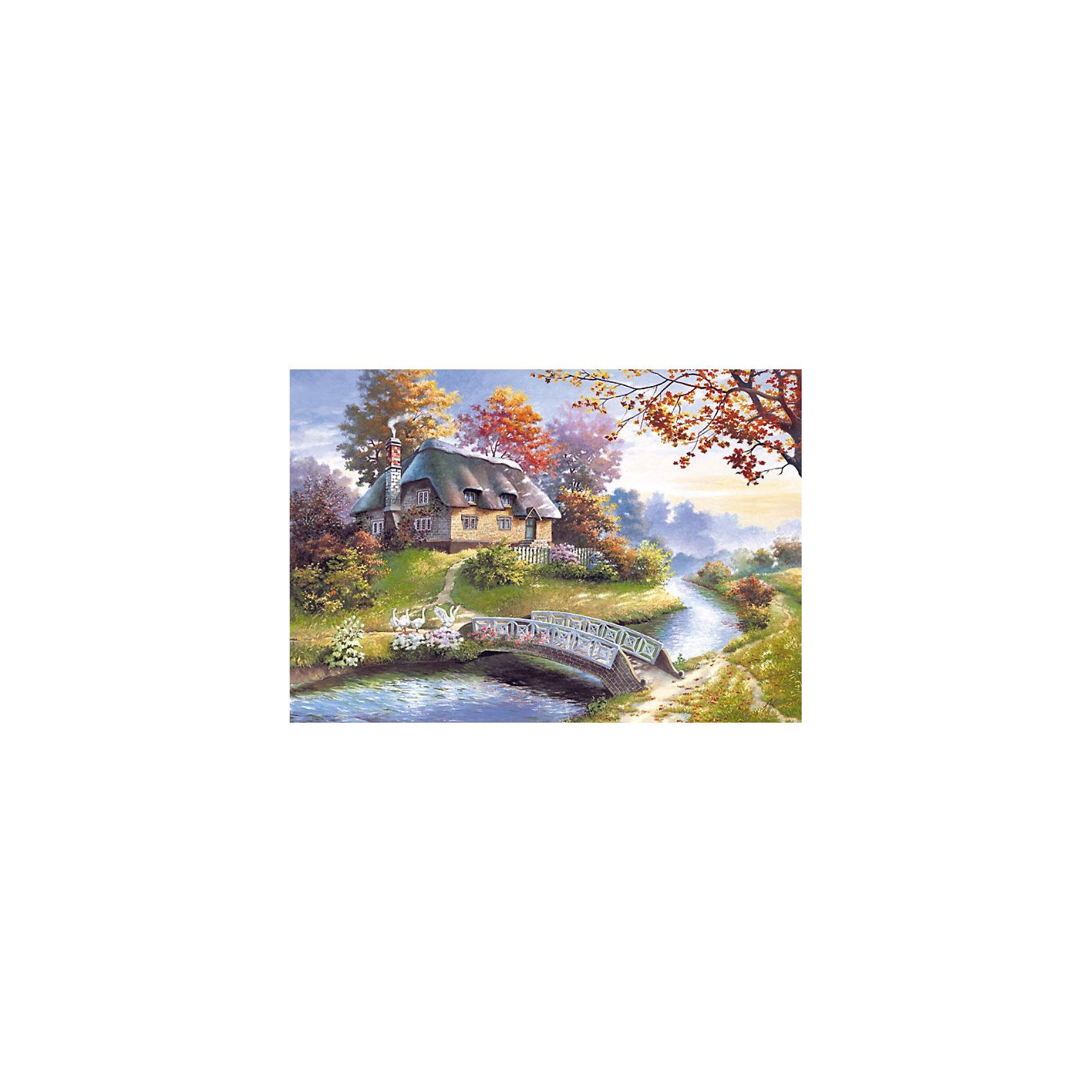 Castorland Пазл Коттедж, 1500 деталей, Castorland куплю дом или коттедж в солотче