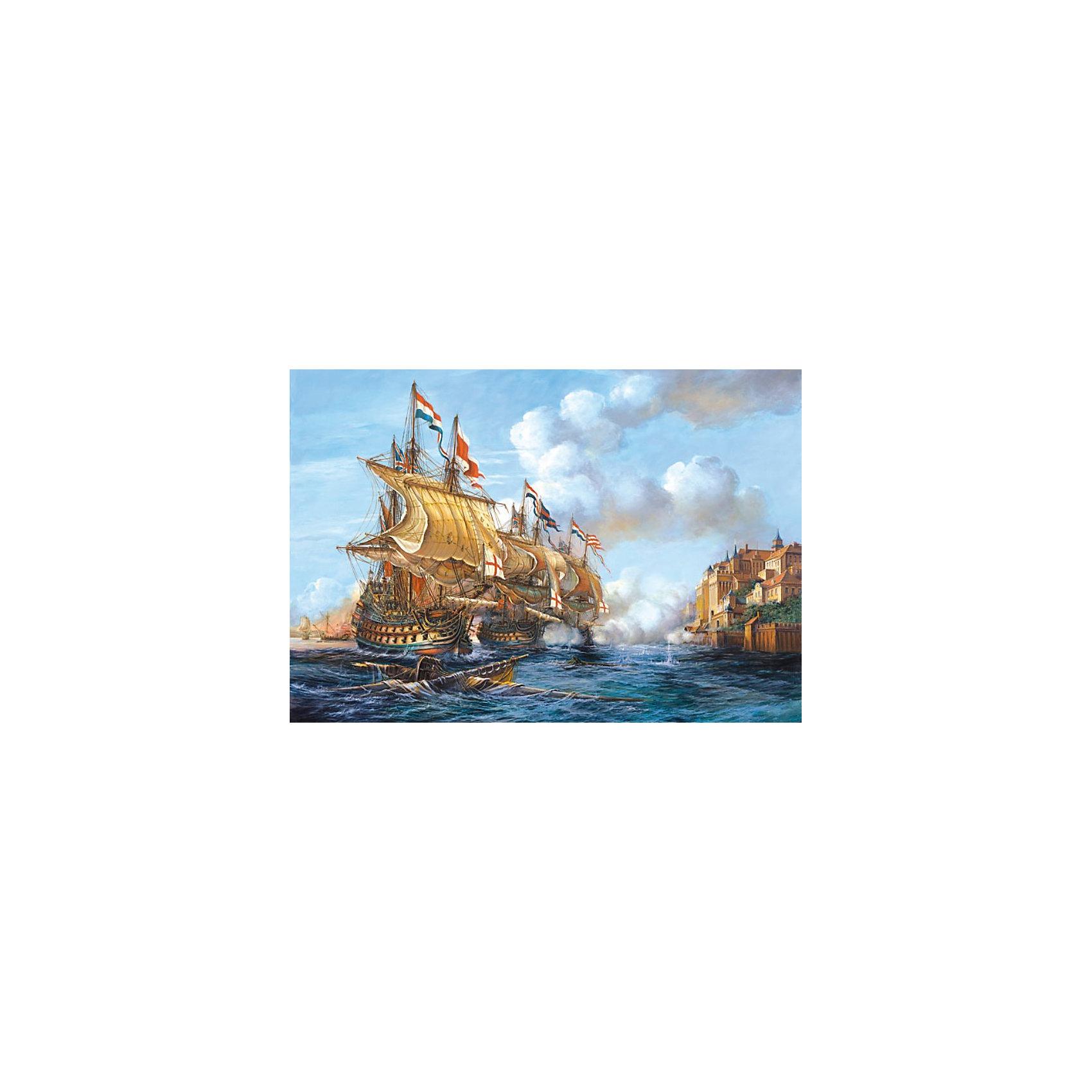 Castorland Пазл Битва при Порто Белло, 2000 деталей, Castorland пазл 2000 продуктовая лавка 17128
