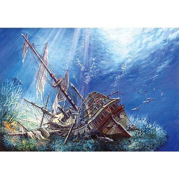 Пазл Затонувший корабль, 2000 деталей, Castorland3D пазлы<br>Пазл Затонувший корабль, 2000 деталей, Castorland (Касторленд). <br><br>Дополнительная информация:<br><br>- Изображение: Затонувший корабль<br>- Количество деталей: 2000<br>- Материал: плотный картон<br>- Размер собранного пазла:   920x680 мм<br>- Размер коробки: 350x250x52 мм <br>- Вес: 900 г.<br><br>Пазл Затонувший корабль, 2000 деталей, Castorland (Касторленд) можно купить в нашем интернет-магазине.<br>Ширина мм: 385; Глубина мм: 275; Высота мм: 50; Вес г: 900; Возраст от месяцев: 96; Возраст до месяцев: 1188; Пол: Унисекс; Возраст: Детский; Количество деталей: 2000; SKU: 2328204;