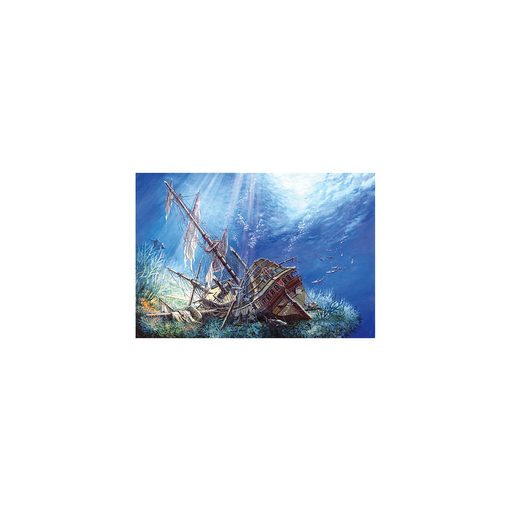 Castorland Пазл Затонувший корабль, 2000 деталей, Castorland castorland пазл красная шапочка castorland 20 деталей