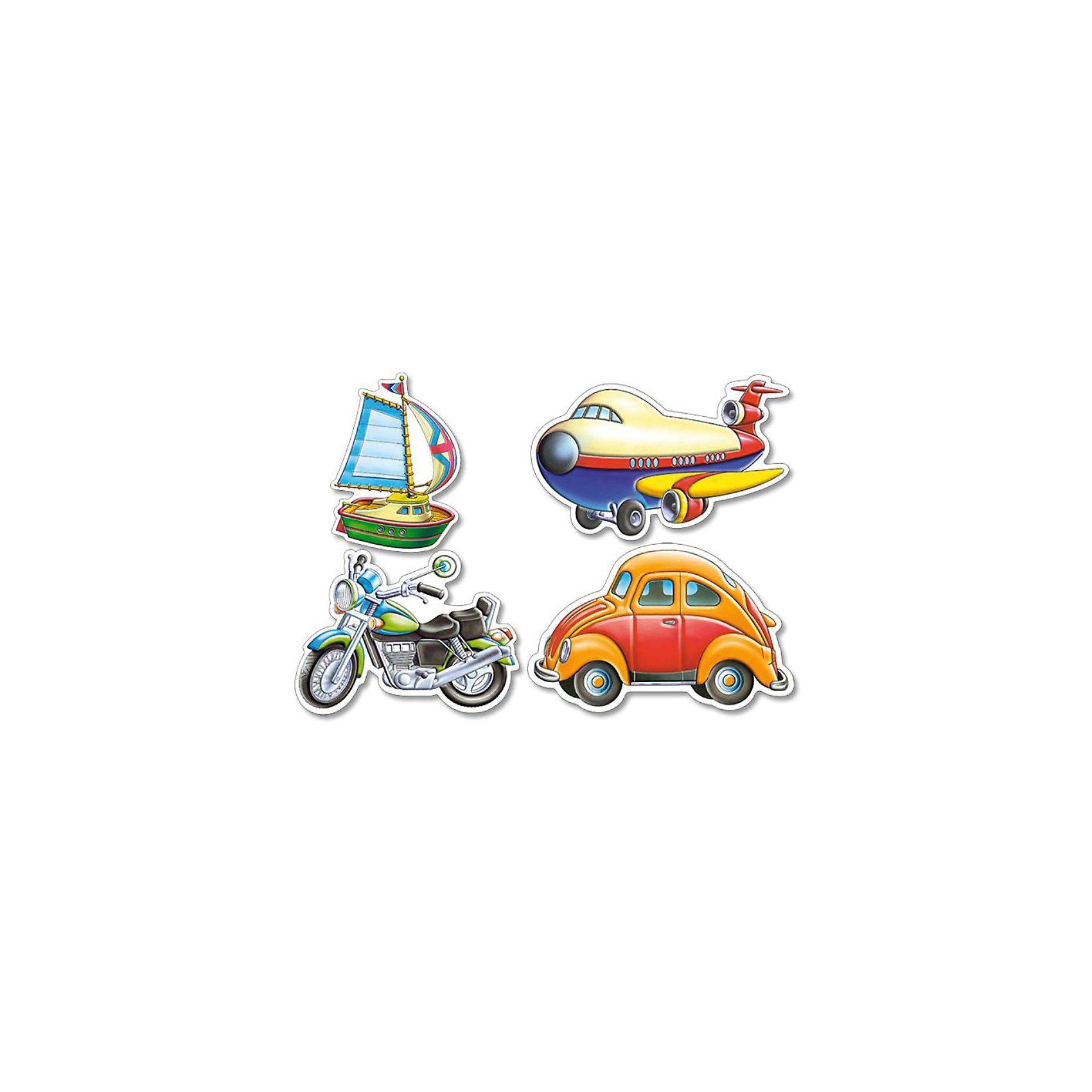 Castorland Контурные пазлы Транспорт,  4*5*6*7 деталей, Castorland конструкторы tototoys 801 крутые виражи rollipop 7 деталей 5 шаров