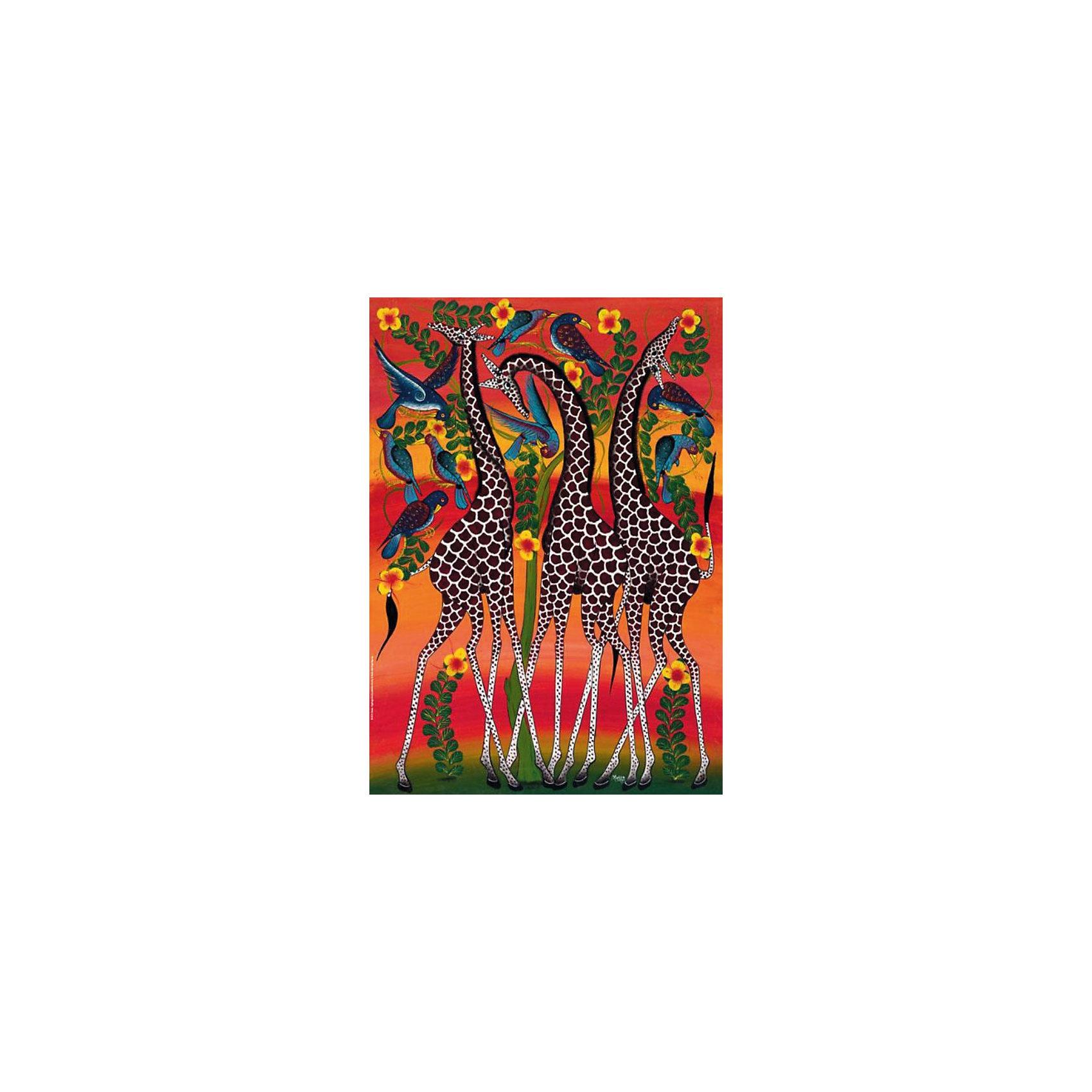 Настольная игра Жирафы, Пазл 1000 деталей