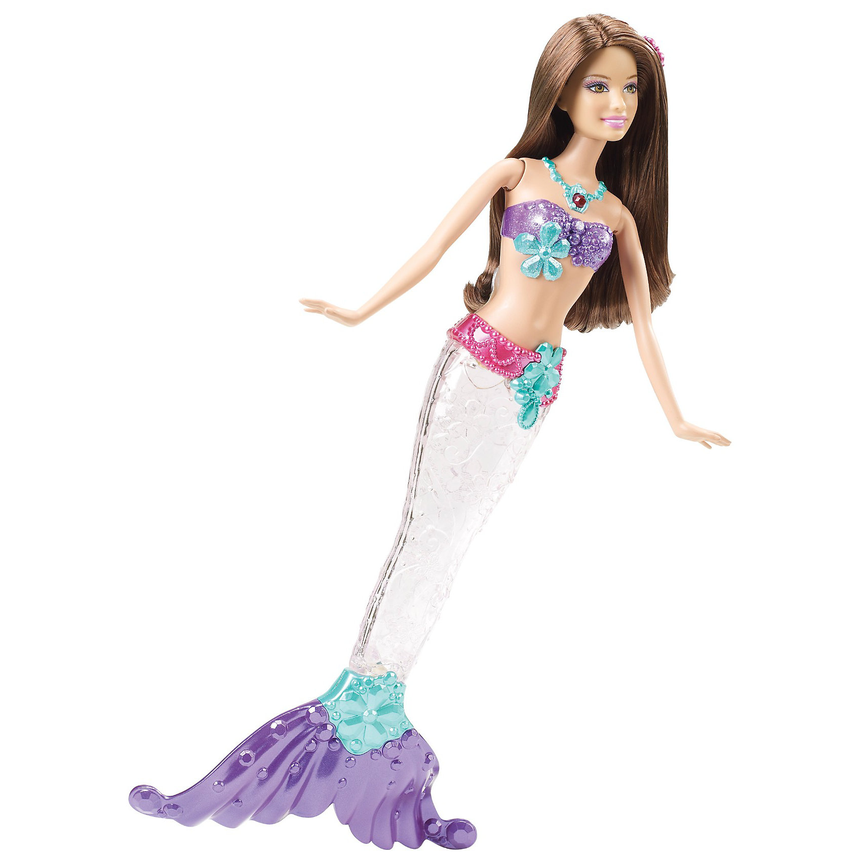 Кукла Русалка-сверкающие огоньки, Barbie, в ассортименте
